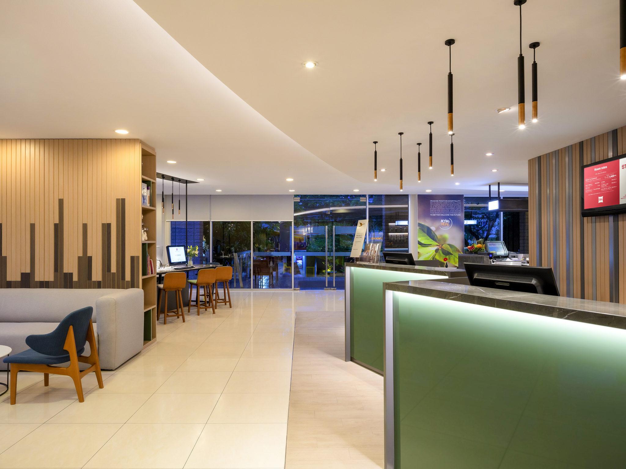 Hotell – ibis Bangkok Sathorn