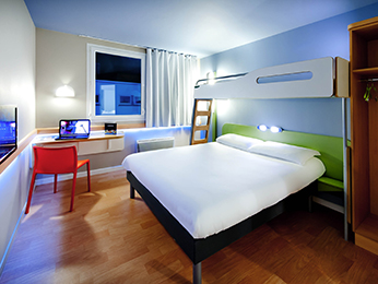 Rooms - ibis budget Brest Centre Port