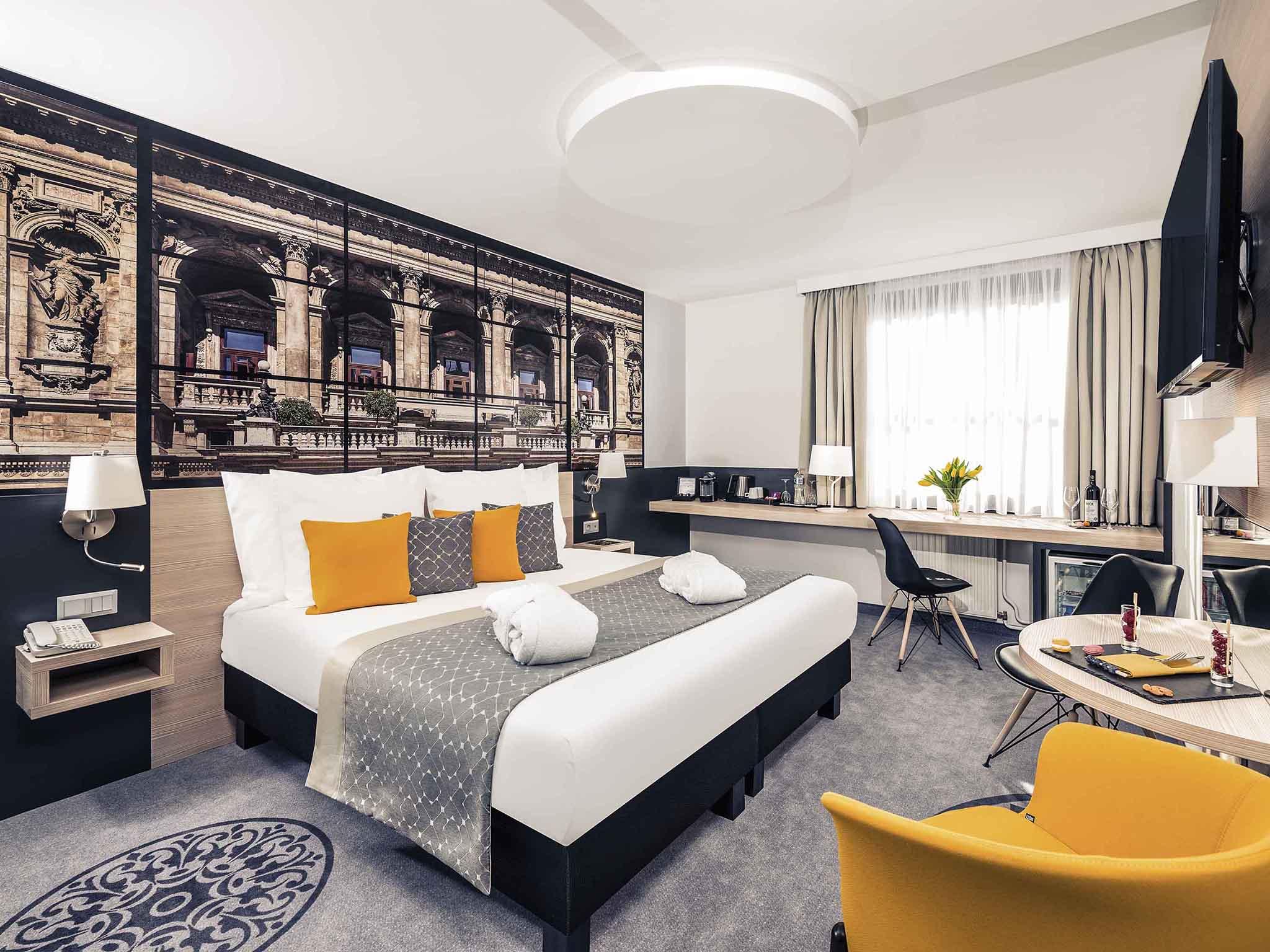 โรงแรม – Mercure Budapest City Center Hotel