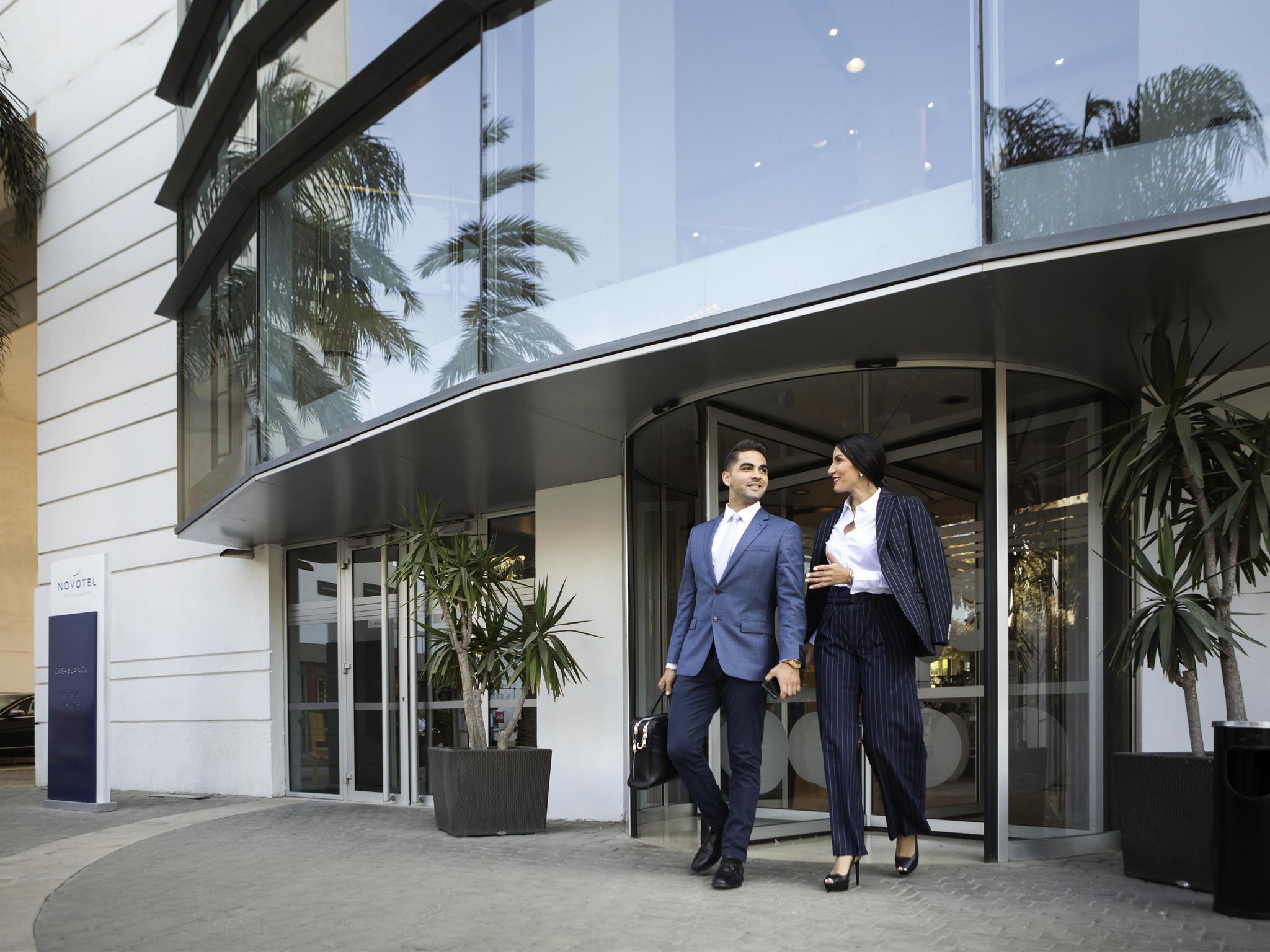 فندق - Novotel Casablanca City Center