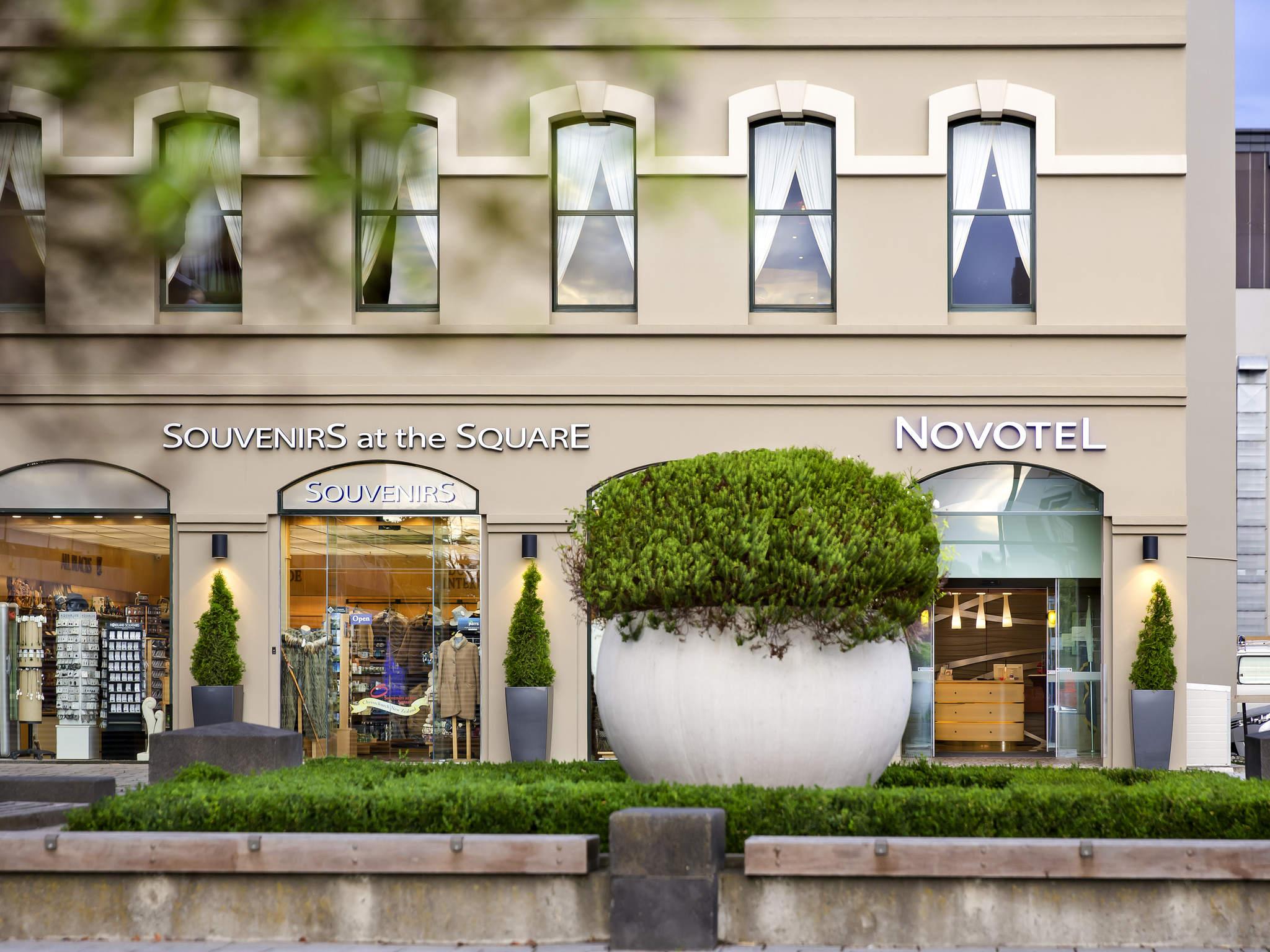 ホテル – ノボテルクライストチャーチカテドラルスクエア