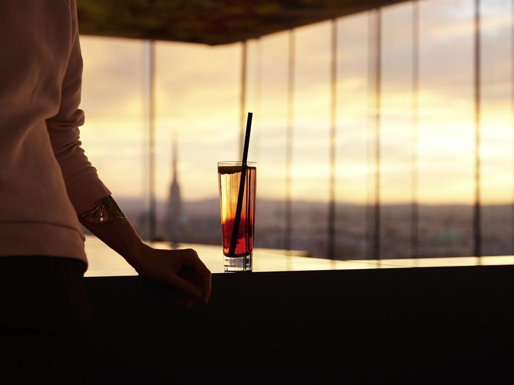 Amerikanische Bar im Das Loft