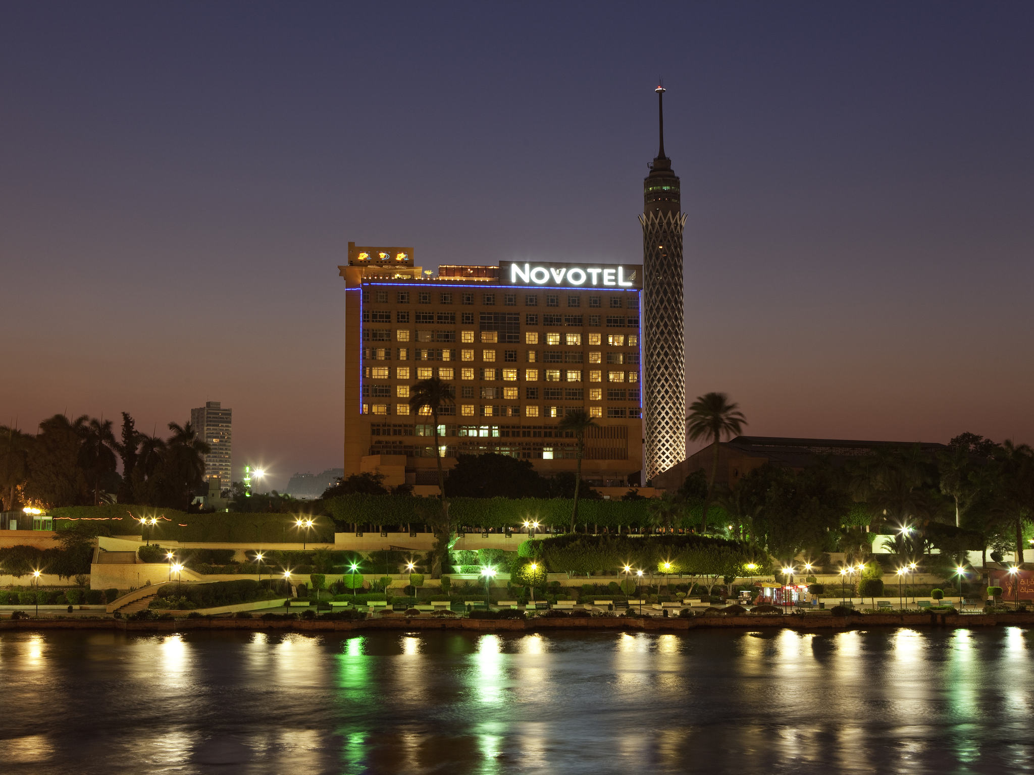 โรงแรม – Novotel Cairo El Borg