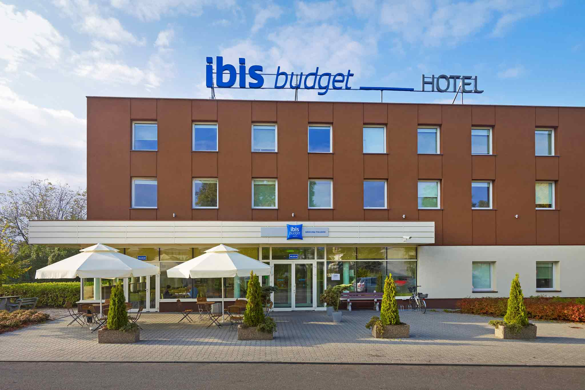 Отель — IBIS Budget Вроцлав Poludnie