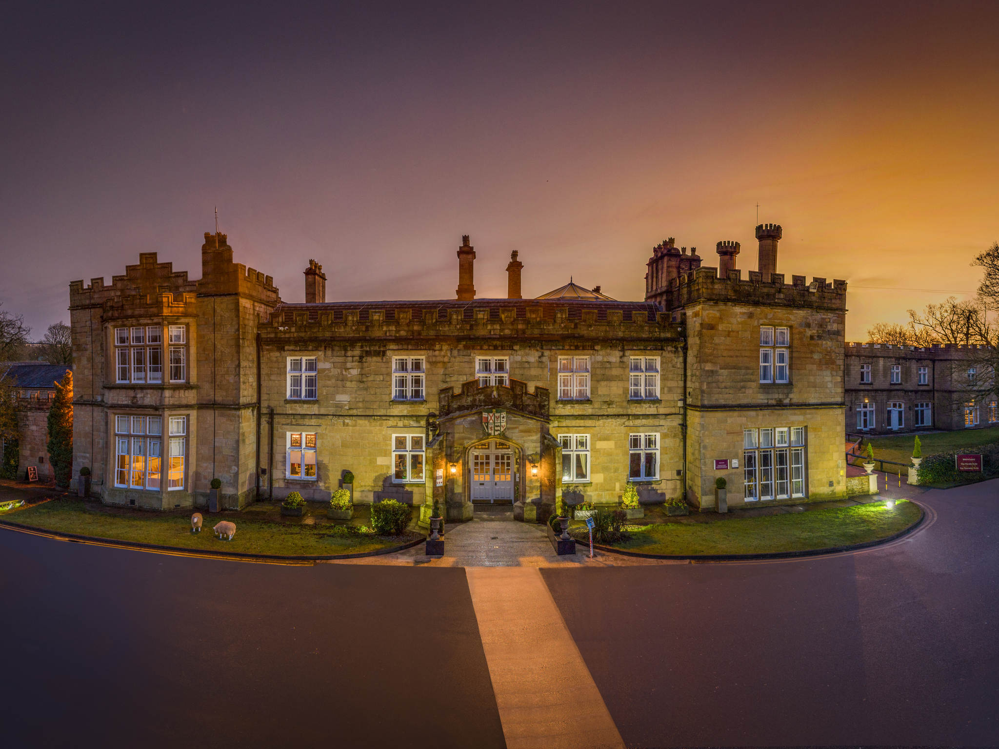 Отель — Mercure Blackburn Dunkenhalgh Hotel & Spa