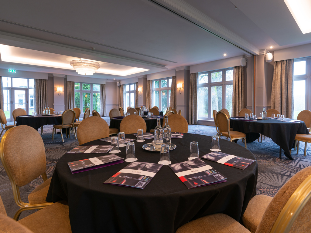 Mercure Blackburn Dunkenhalgh Hotel And Spa Meeting Room
