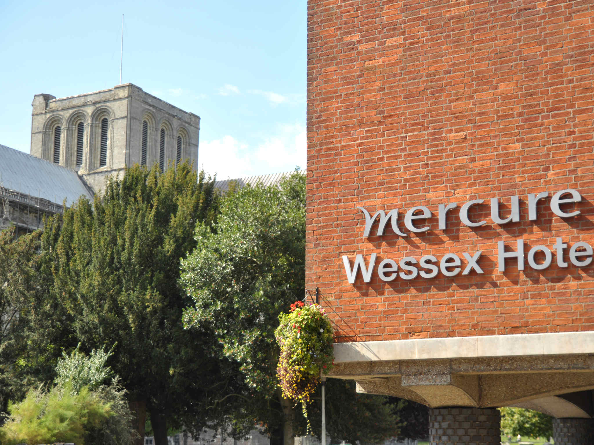 Hotell – Mercure Winchester Wessex Hotel