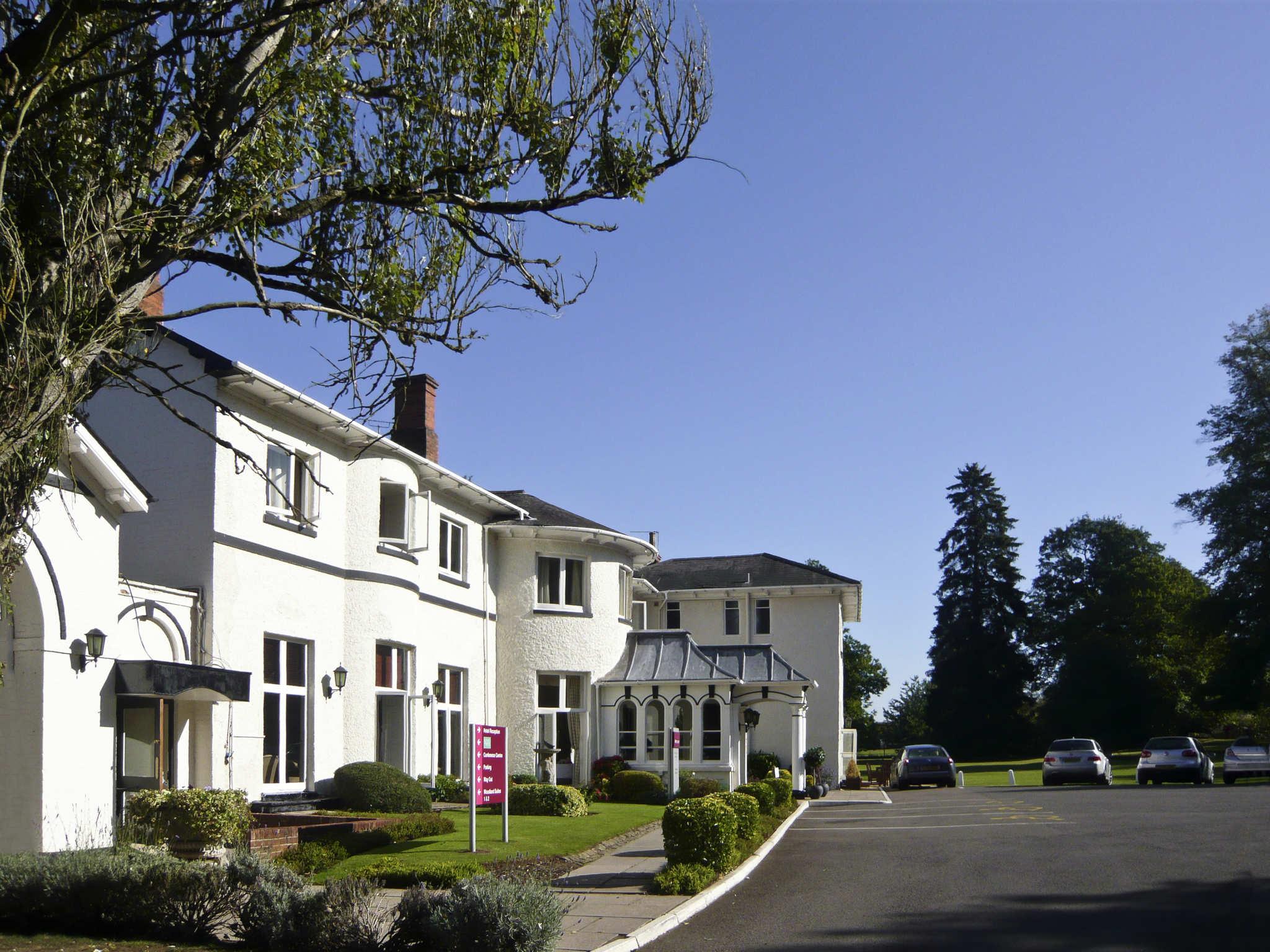 Otel – Mercure Brandon Hall Hotel & Spa Warwickshire