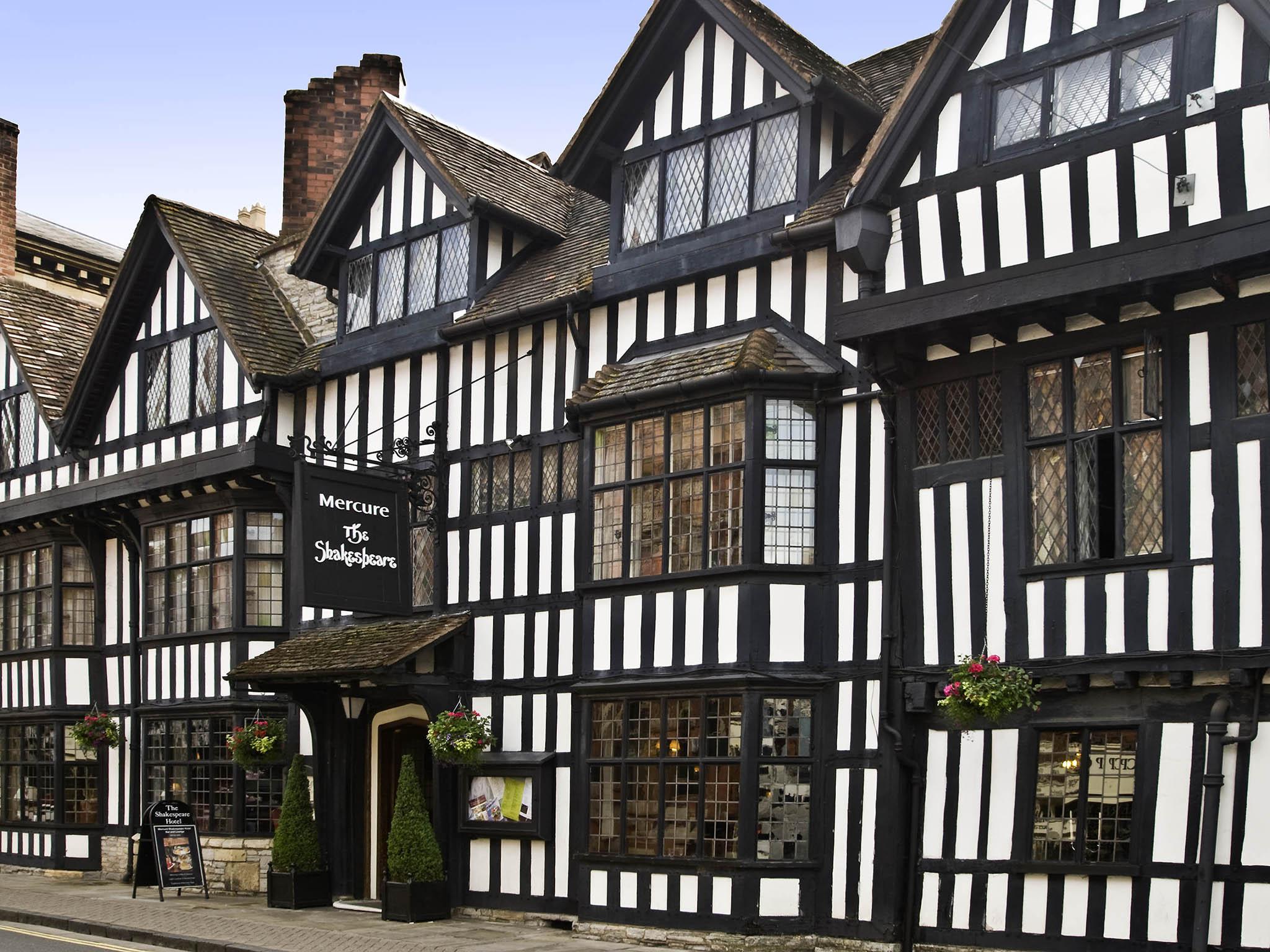 Отель — Mercure Stratford upon Avon Shakespeare Hotel