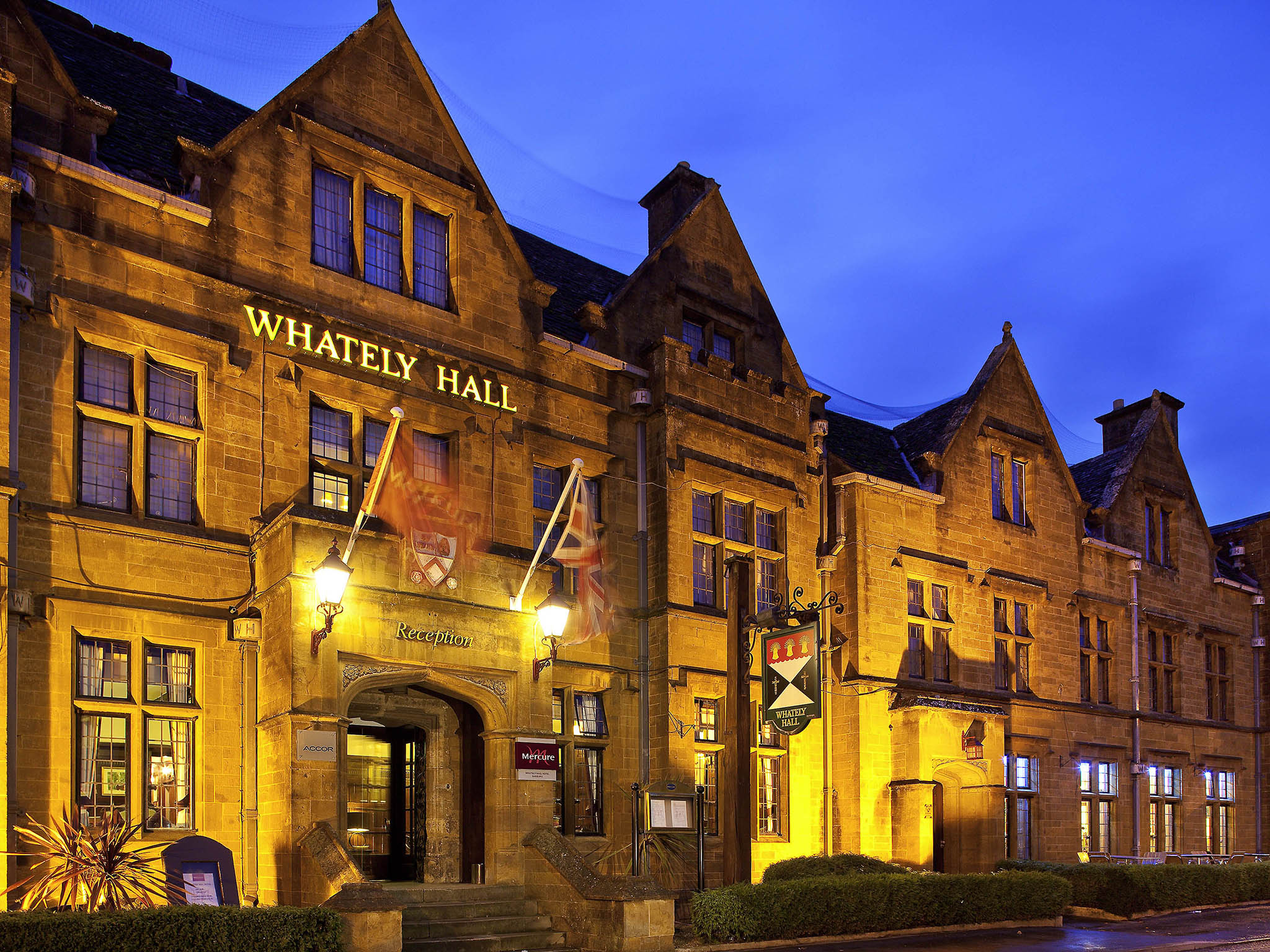 Отель — Mercure Banbury Whately Hall Hotel