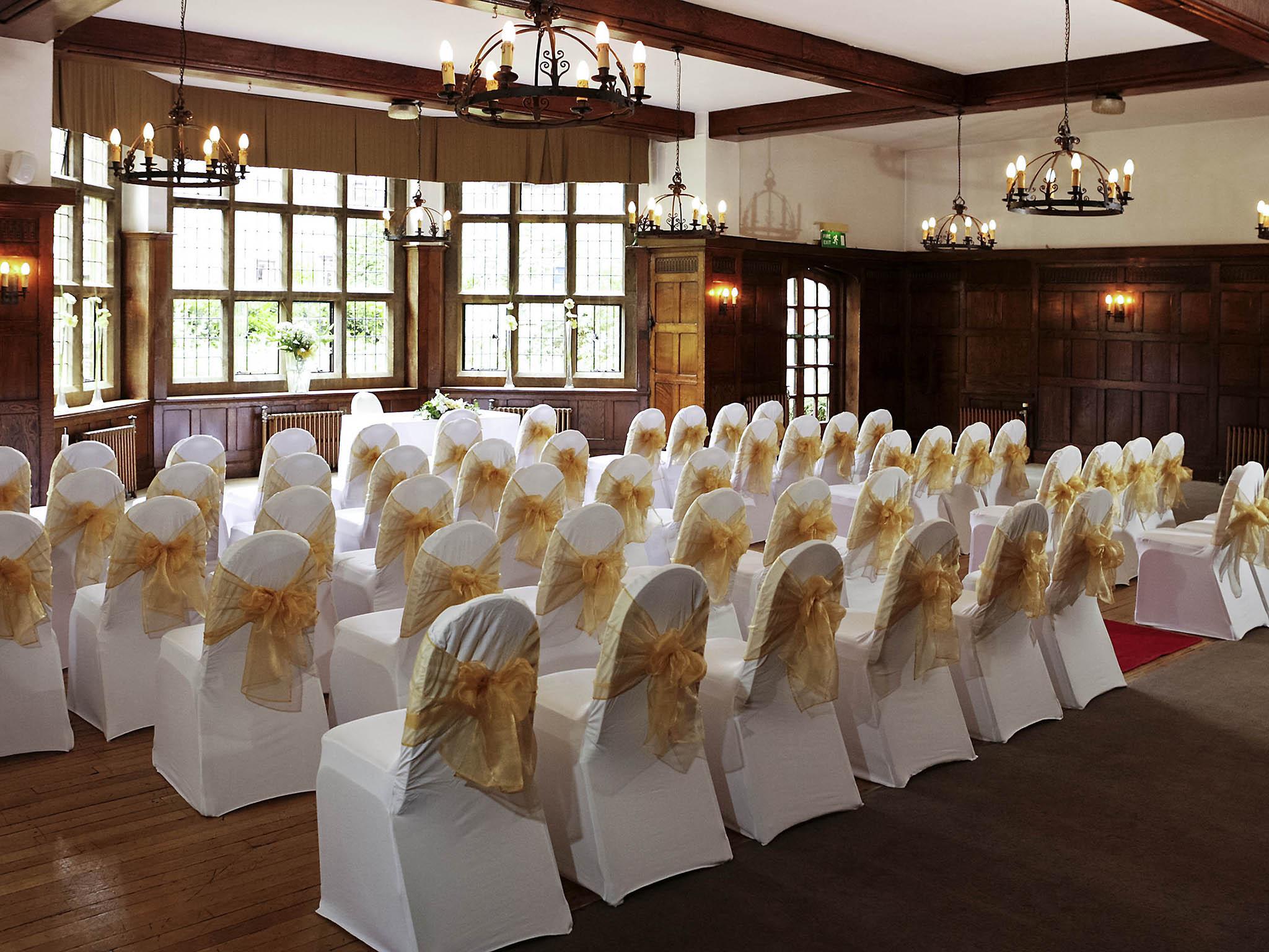 Weddings Mercure Banbury Wly Hall Hotel