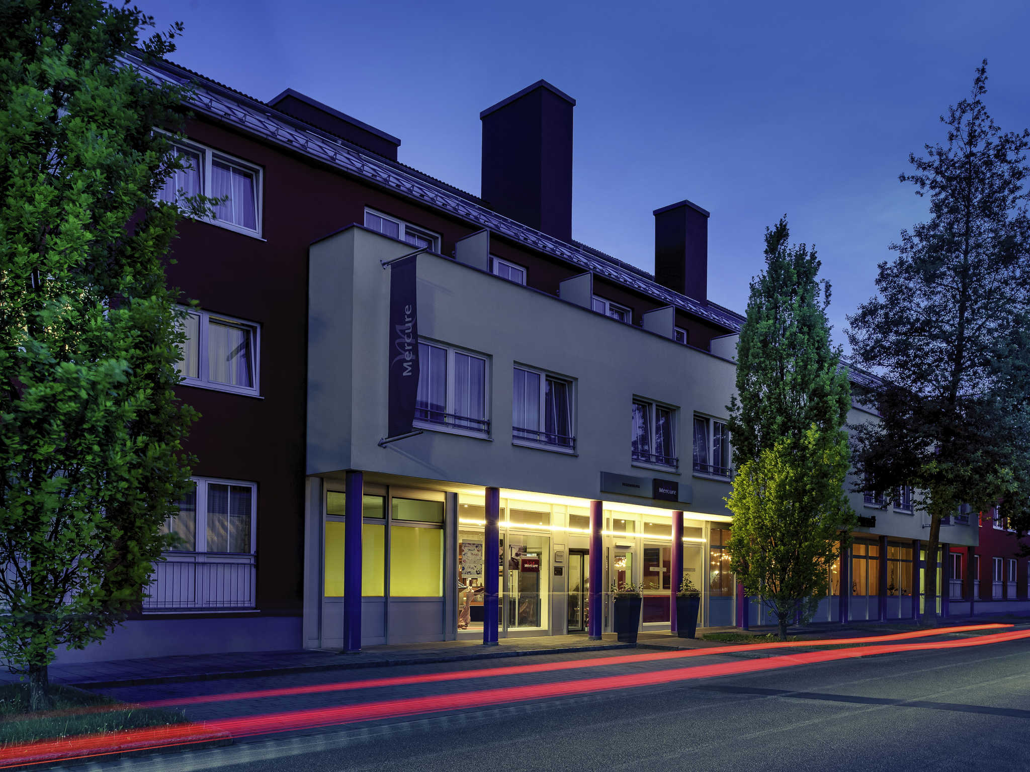 Отель — Mercure Регенсбург