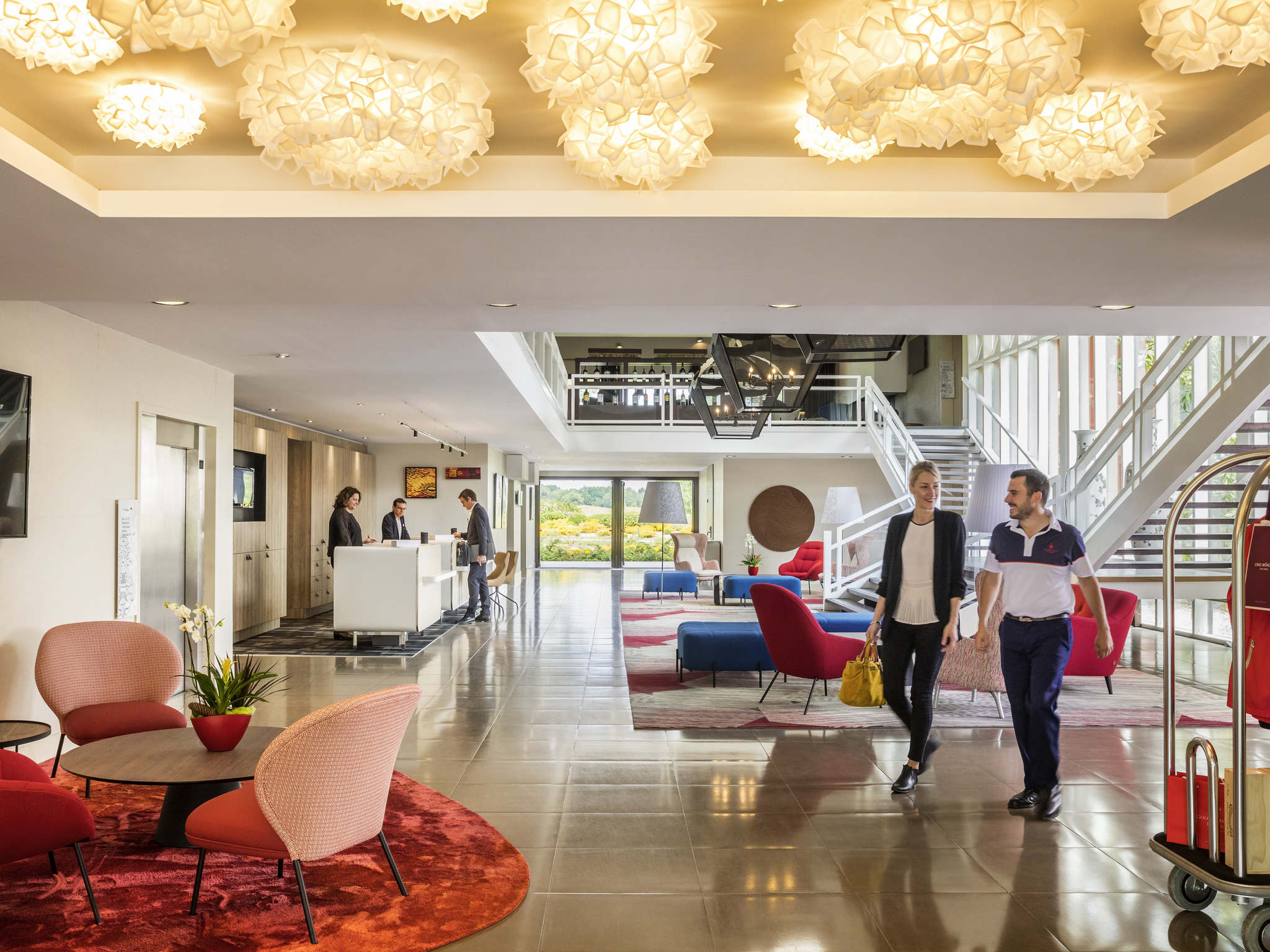 Отель — Golf du Médoc Hôtel et Spa - MGallery by Sofitel