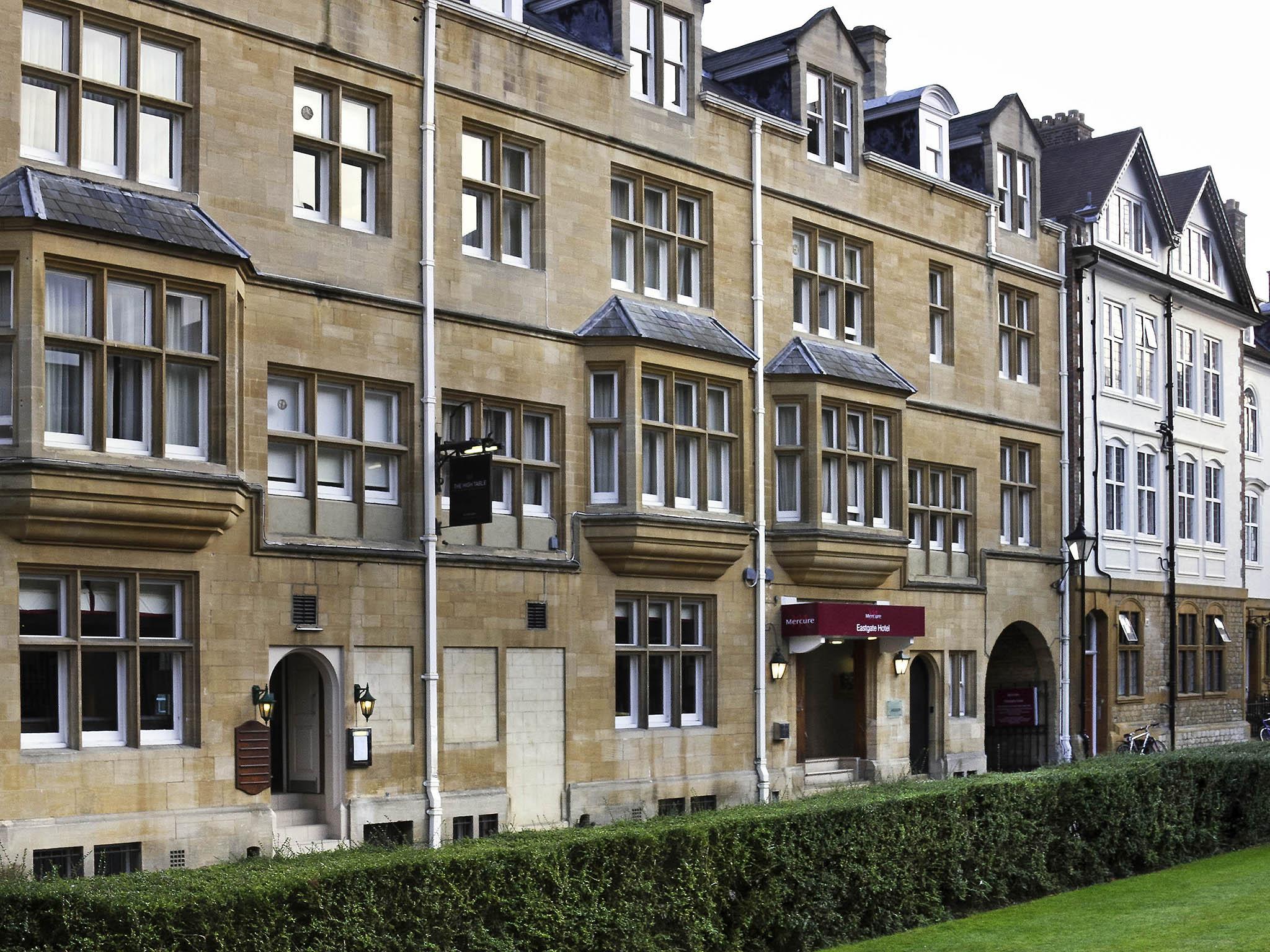 Hotel – Mercure Oxford Eastgate Hotel