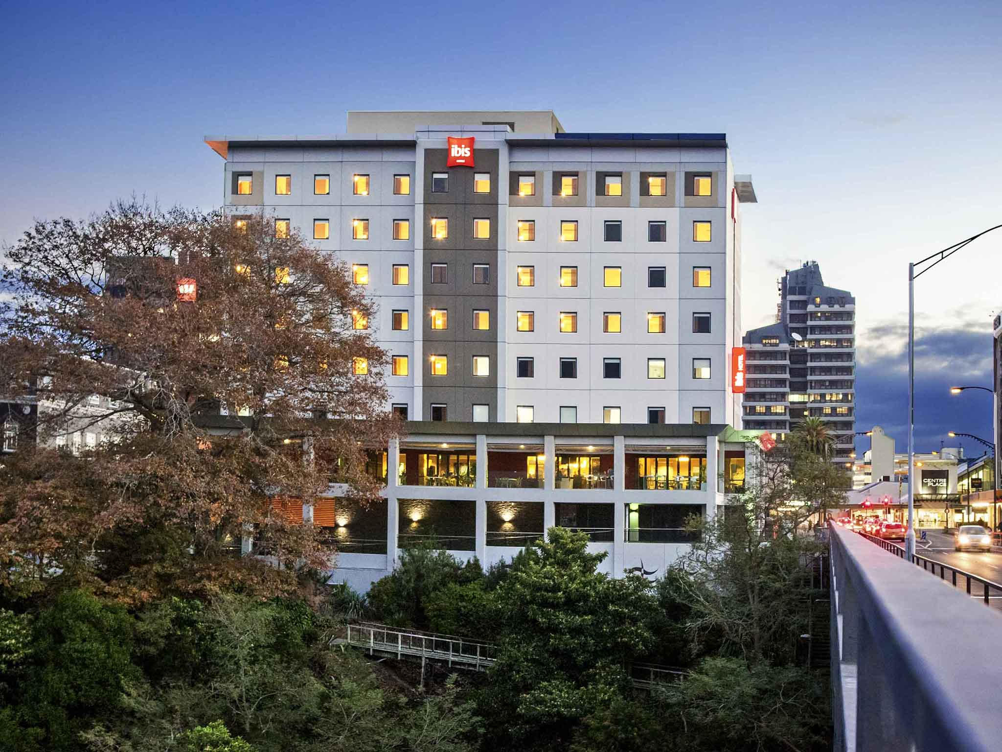 Hotell – ibis Hamilton Tainui