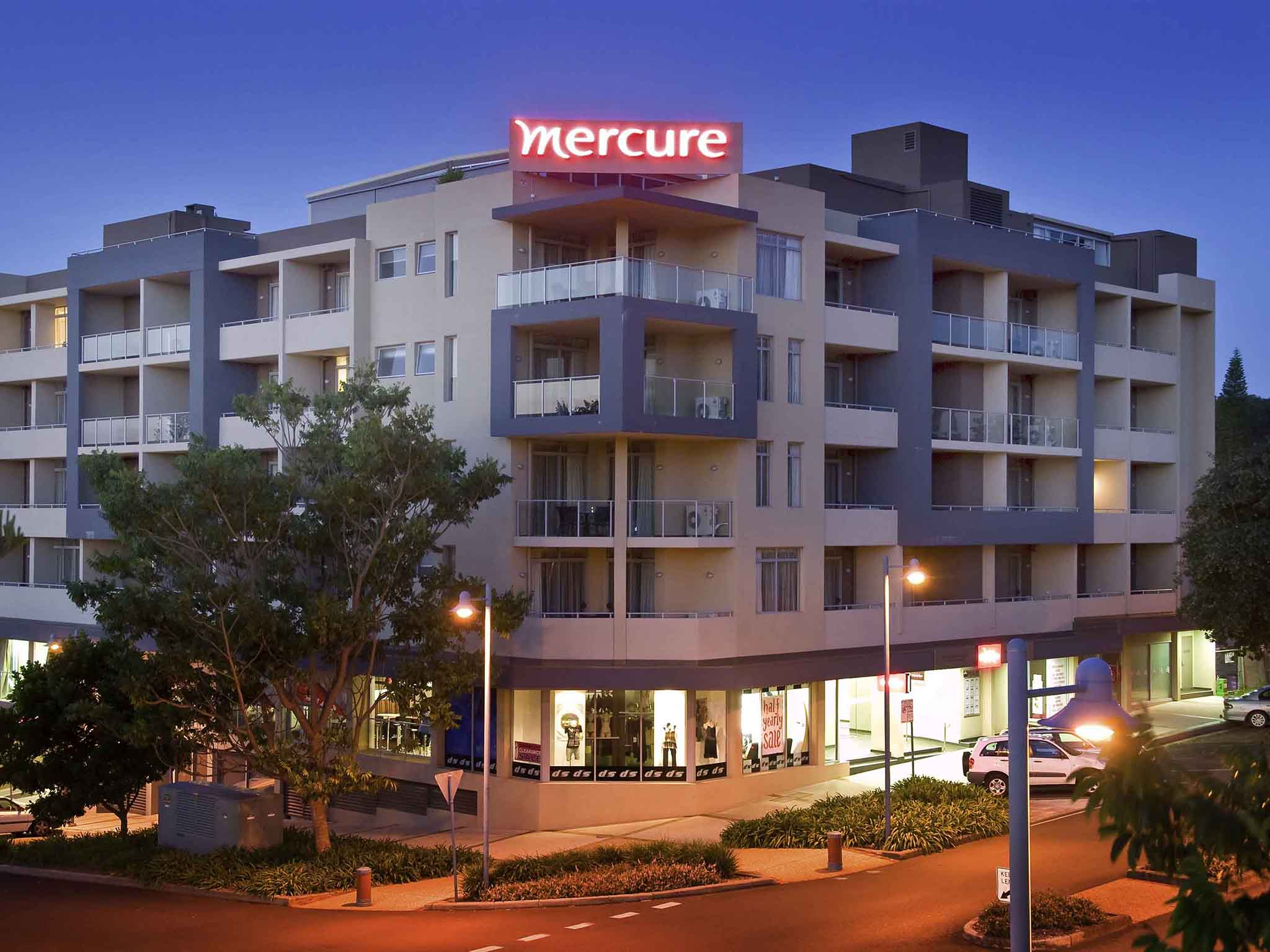 โรงแรม – Mercure Centro Port Macquarie