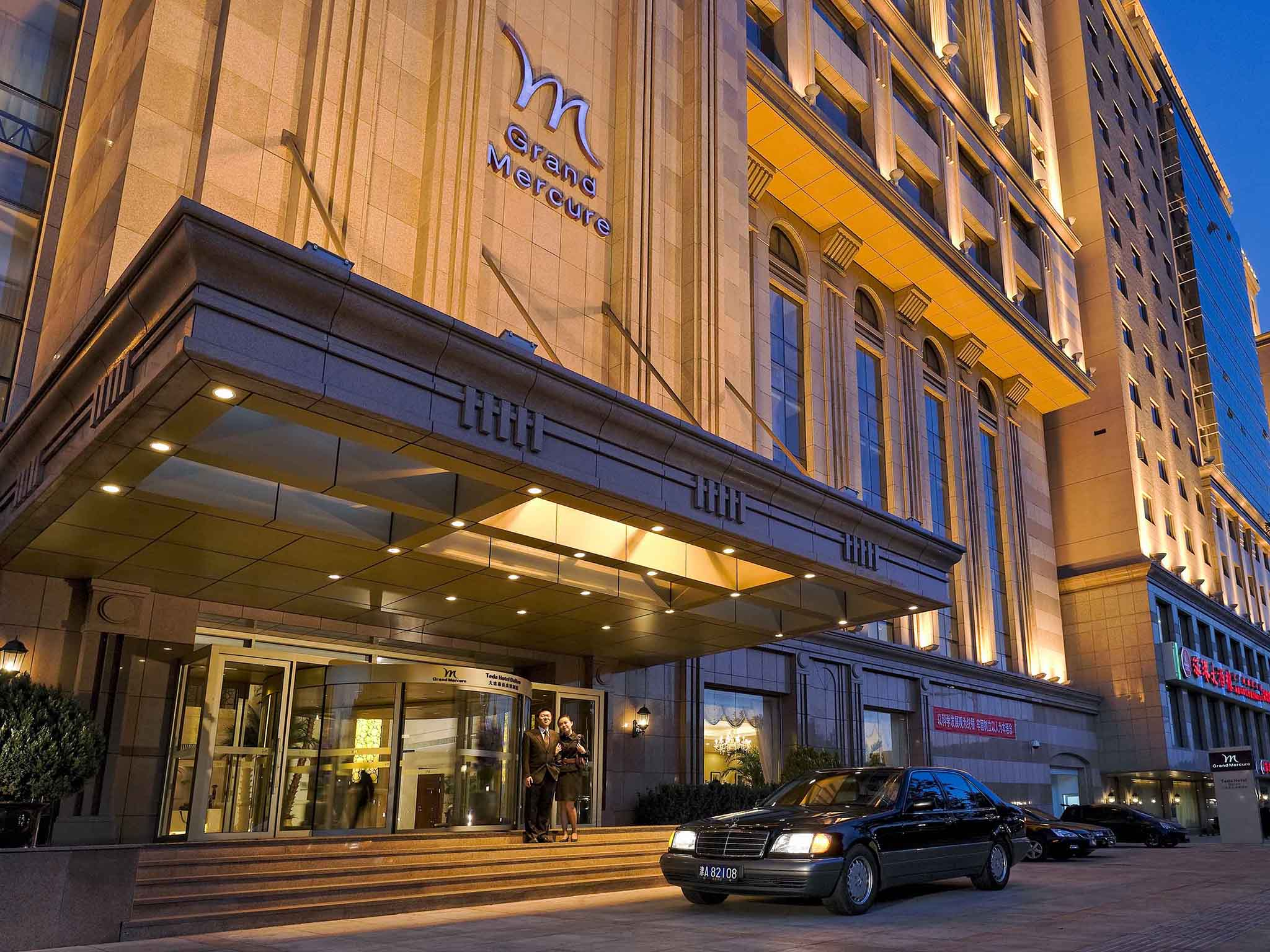 Отель — Grand Mercure Dalian Teda