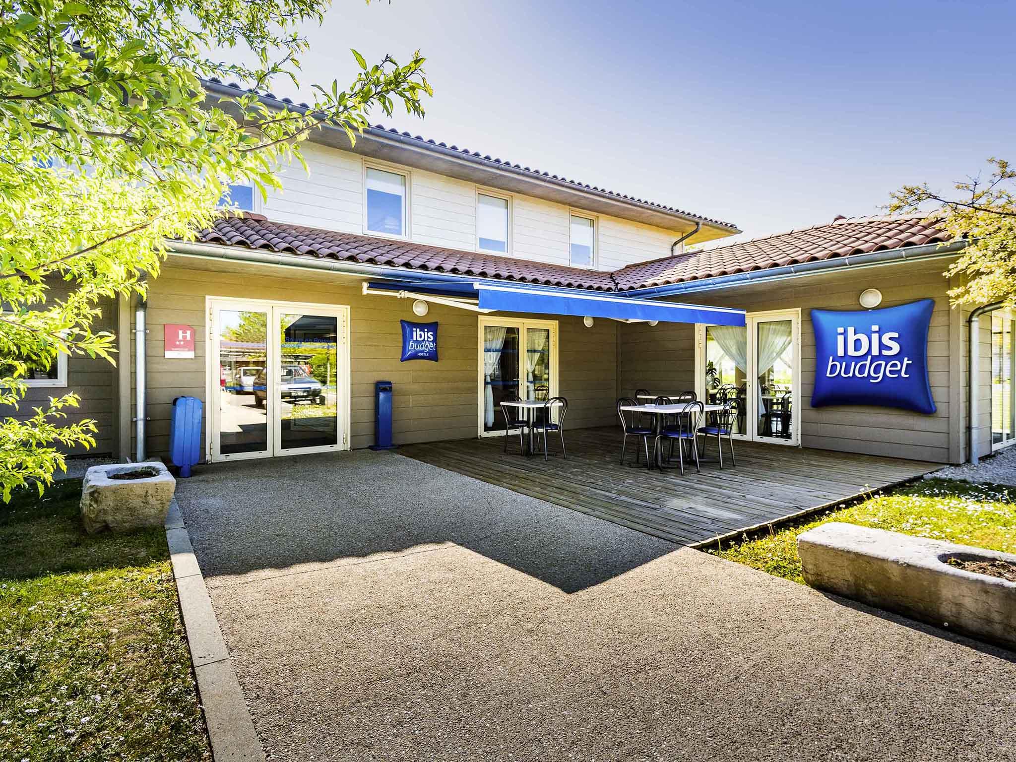 Отель — ibis budget Bourg-en-Bresse