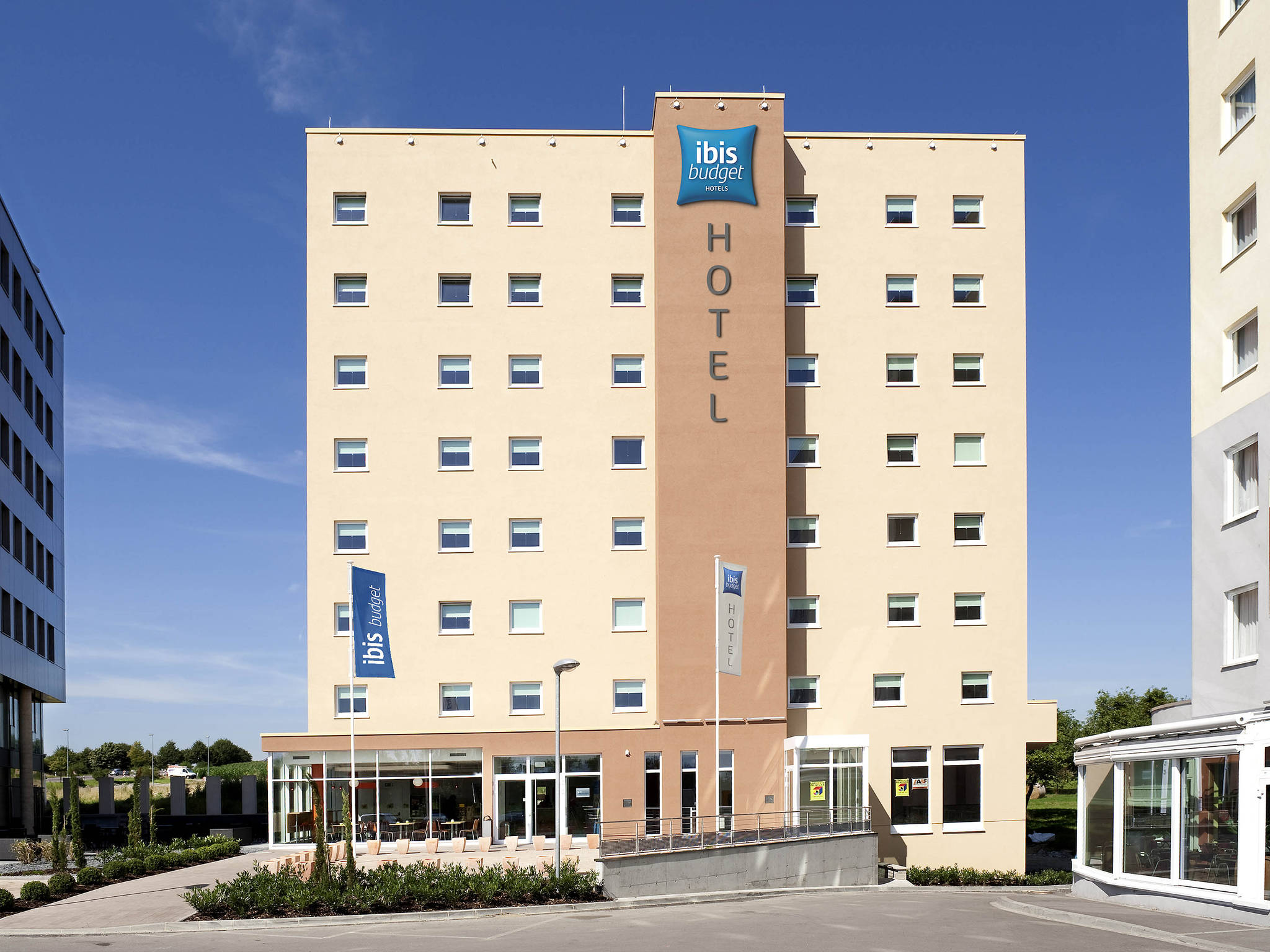 Hôtel - ibis budget Luxembourg Sud
