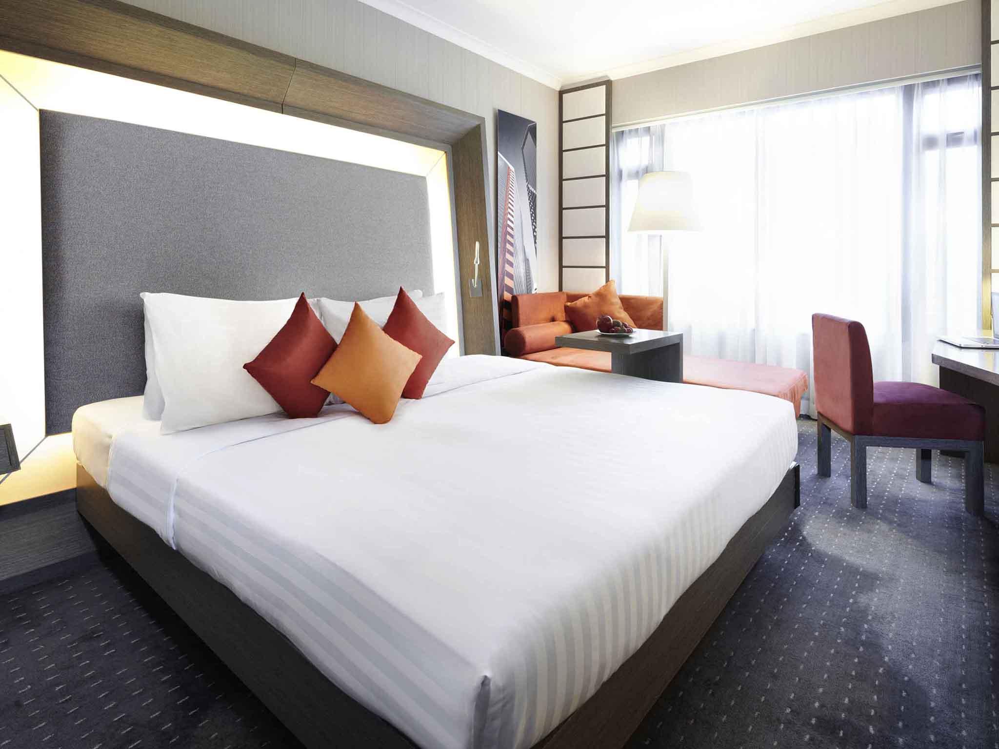 Hotell – Novotel Hong Kong Nathan Road Kowloon
