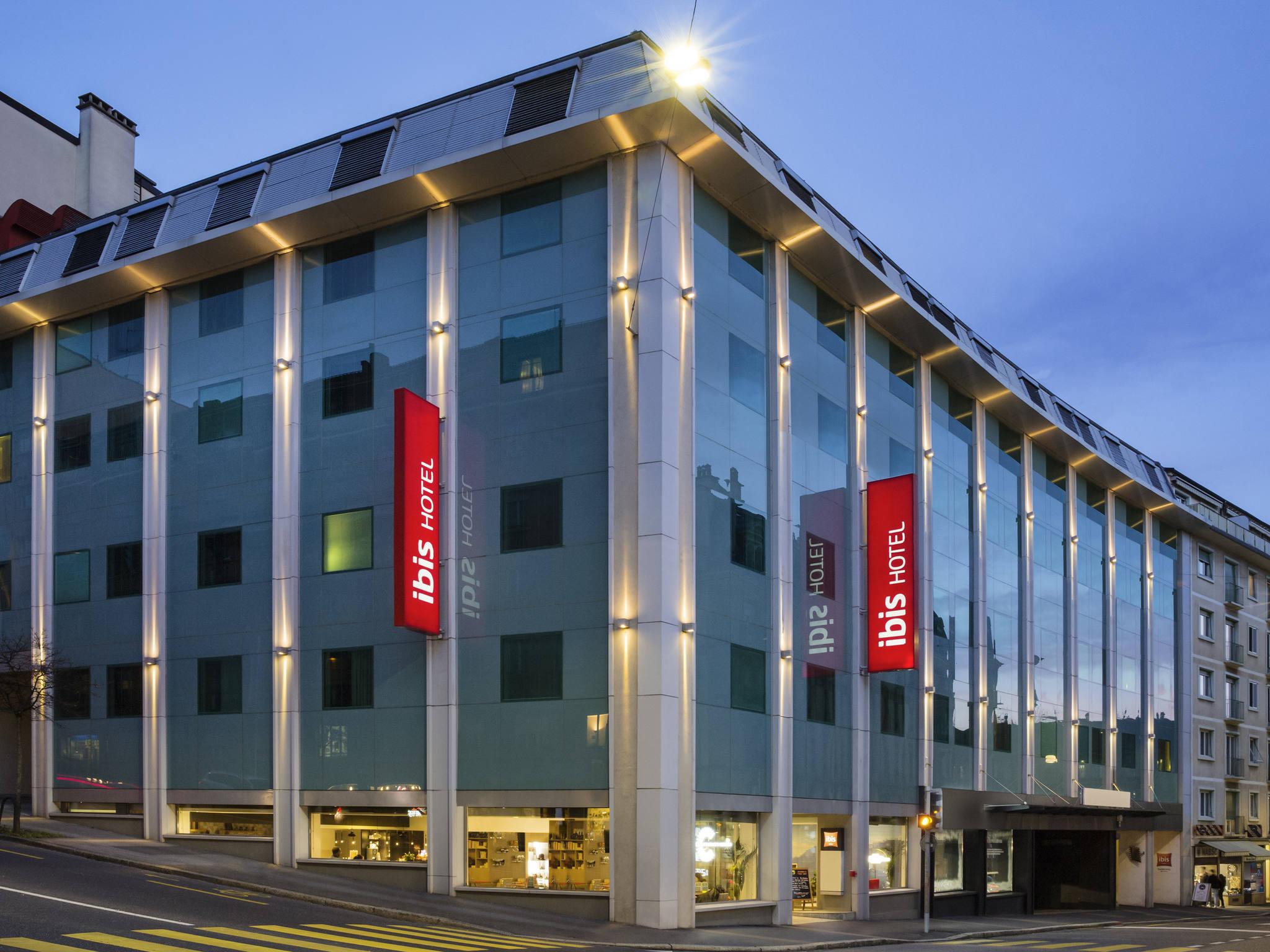 H tel ibis lausanne centre accor hotels for Piscine lausanne