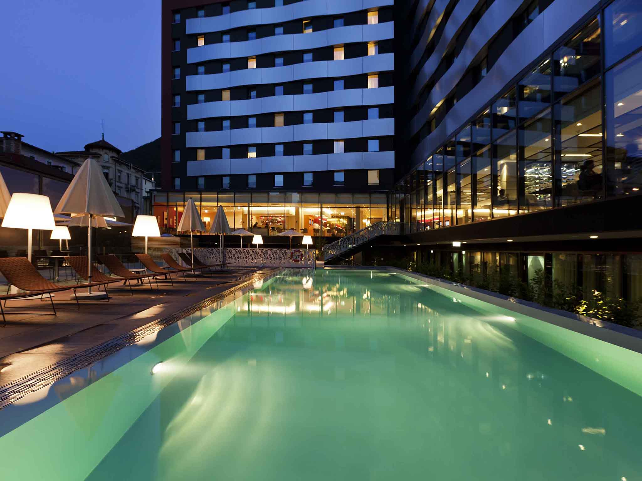 酒店 – 卢加诺帕拉迪索诺富特酒店