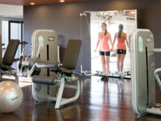 Our naturally lit fit centre has all you need for your workout