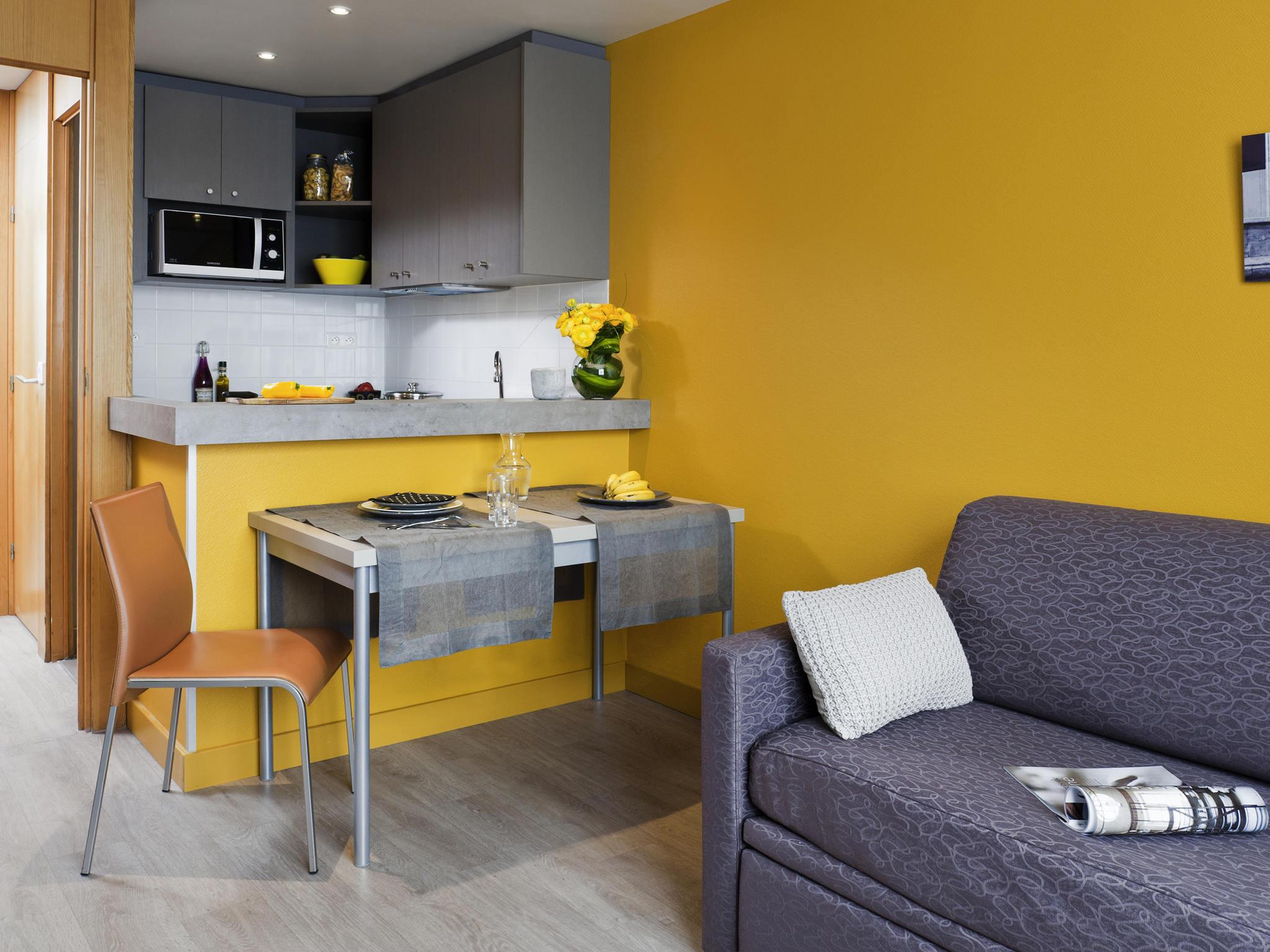 酒店 – 巴黎 XV 公寓酒店