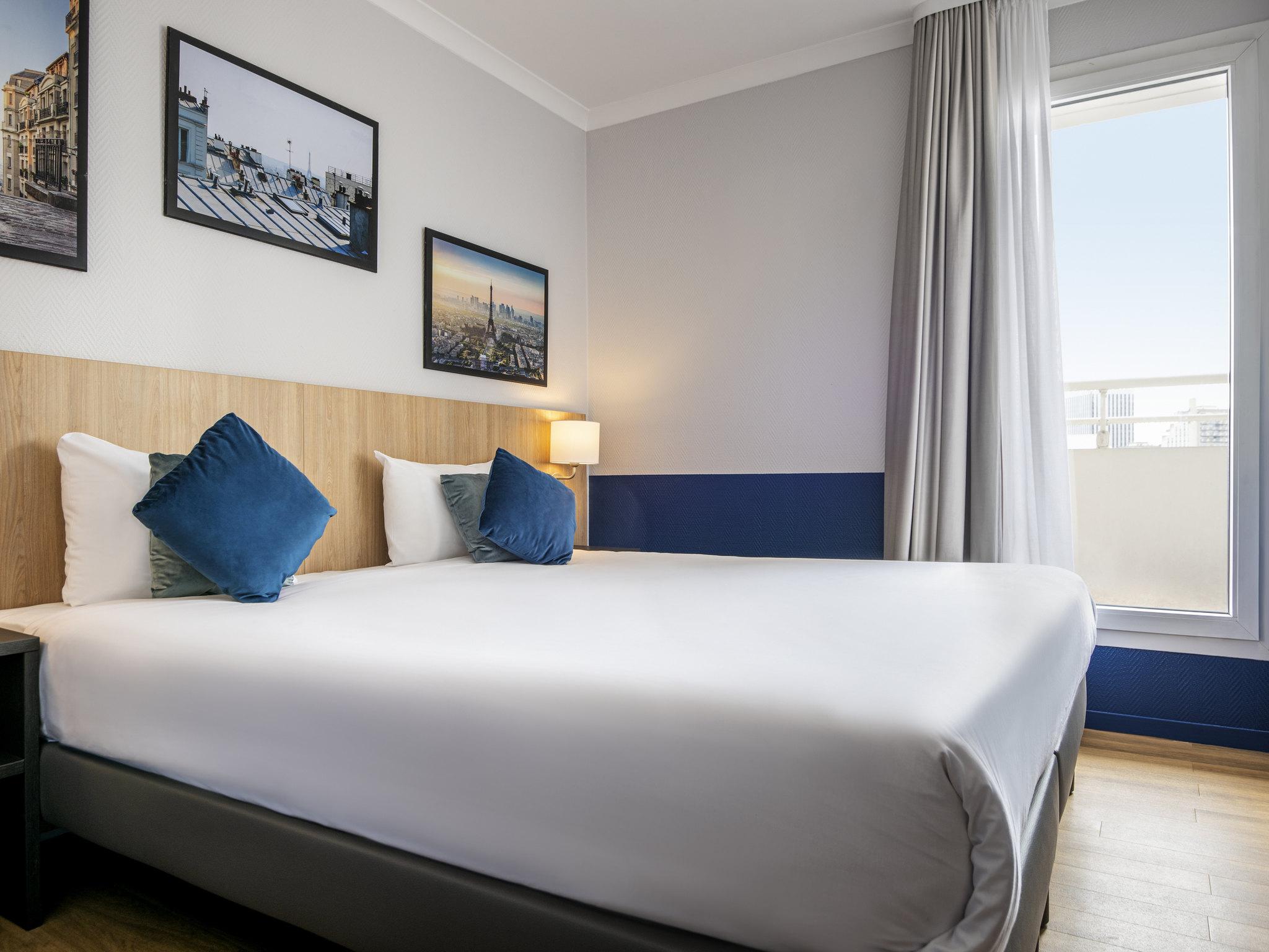 Hotell – Lägenhetshotellet Adagio La Defense Kleber
