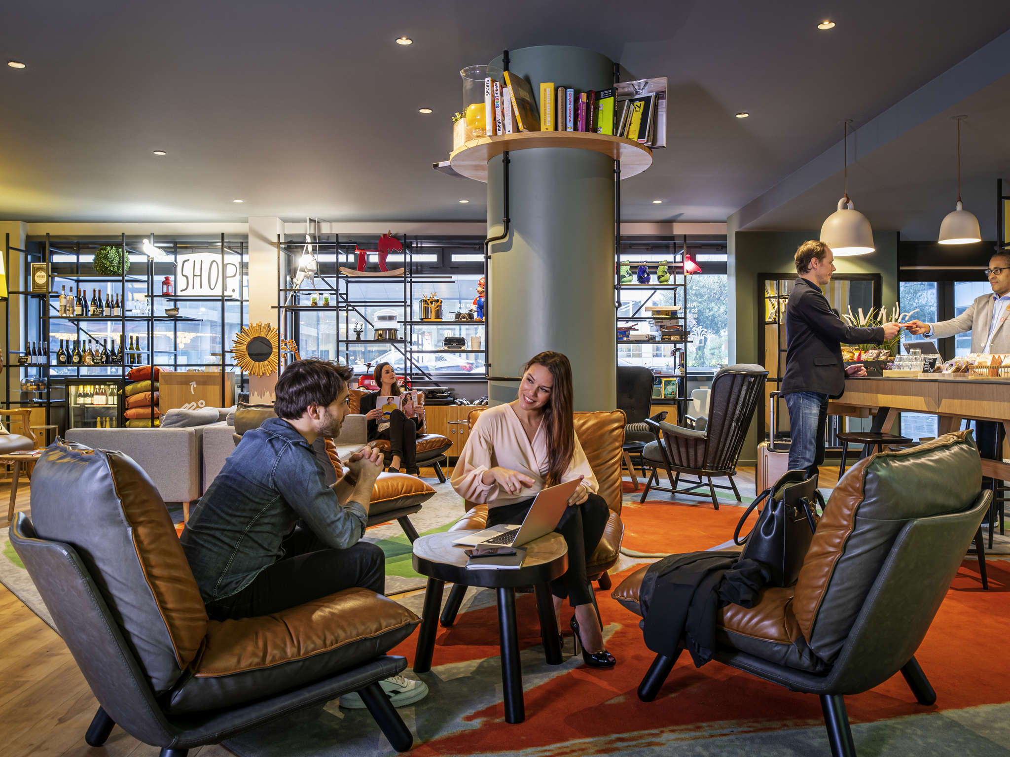 โรงแรม – อพาร์ทโฮเทล อดาจิโอ ปารีส แบร์ซี วิลเลจ