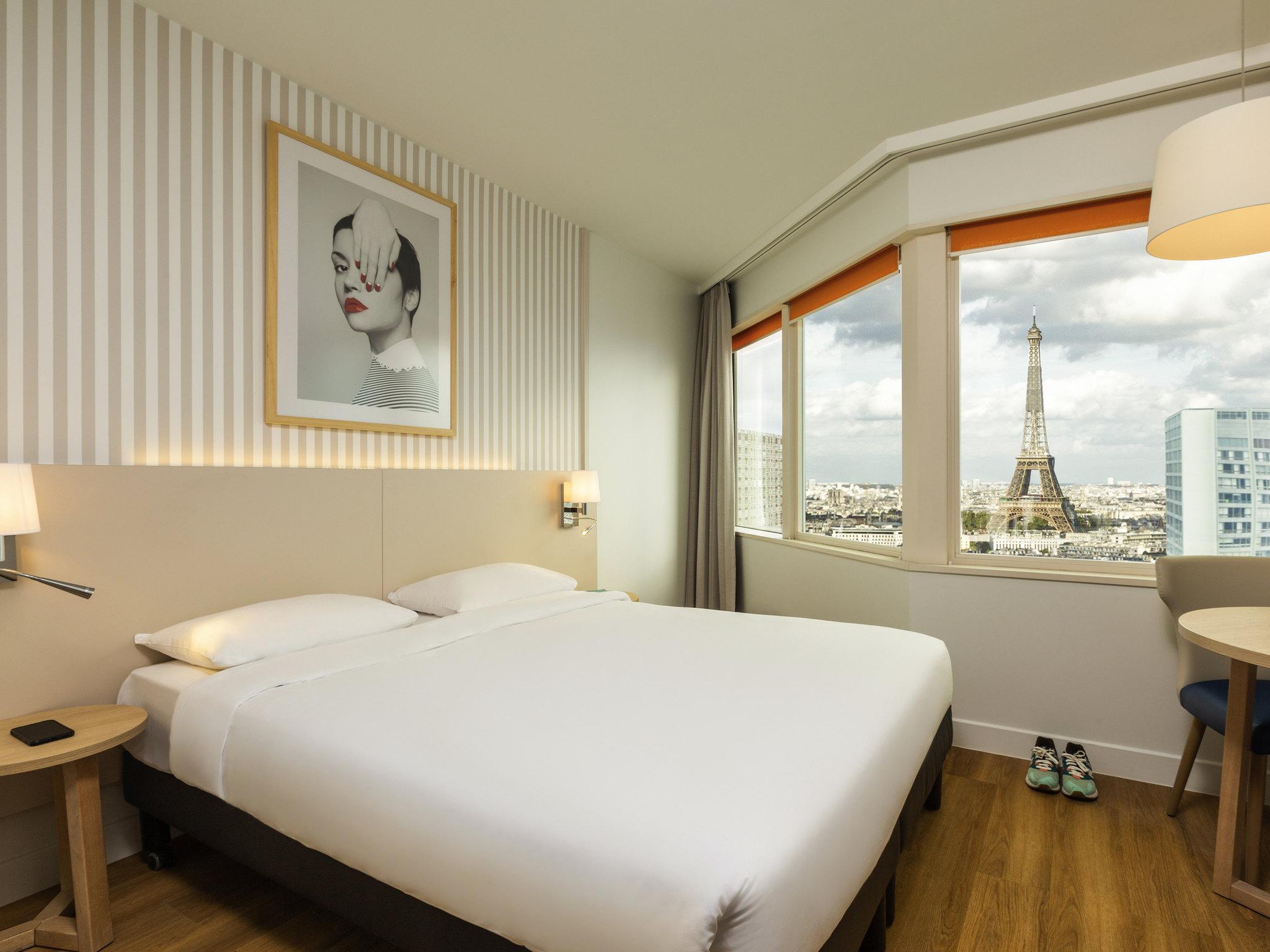 Отель — Апартотель Adagio Париж Центр Эйфелева башня