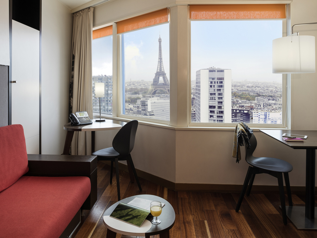 1-bedroom apartment for 4 people - Panoramic views of Paris