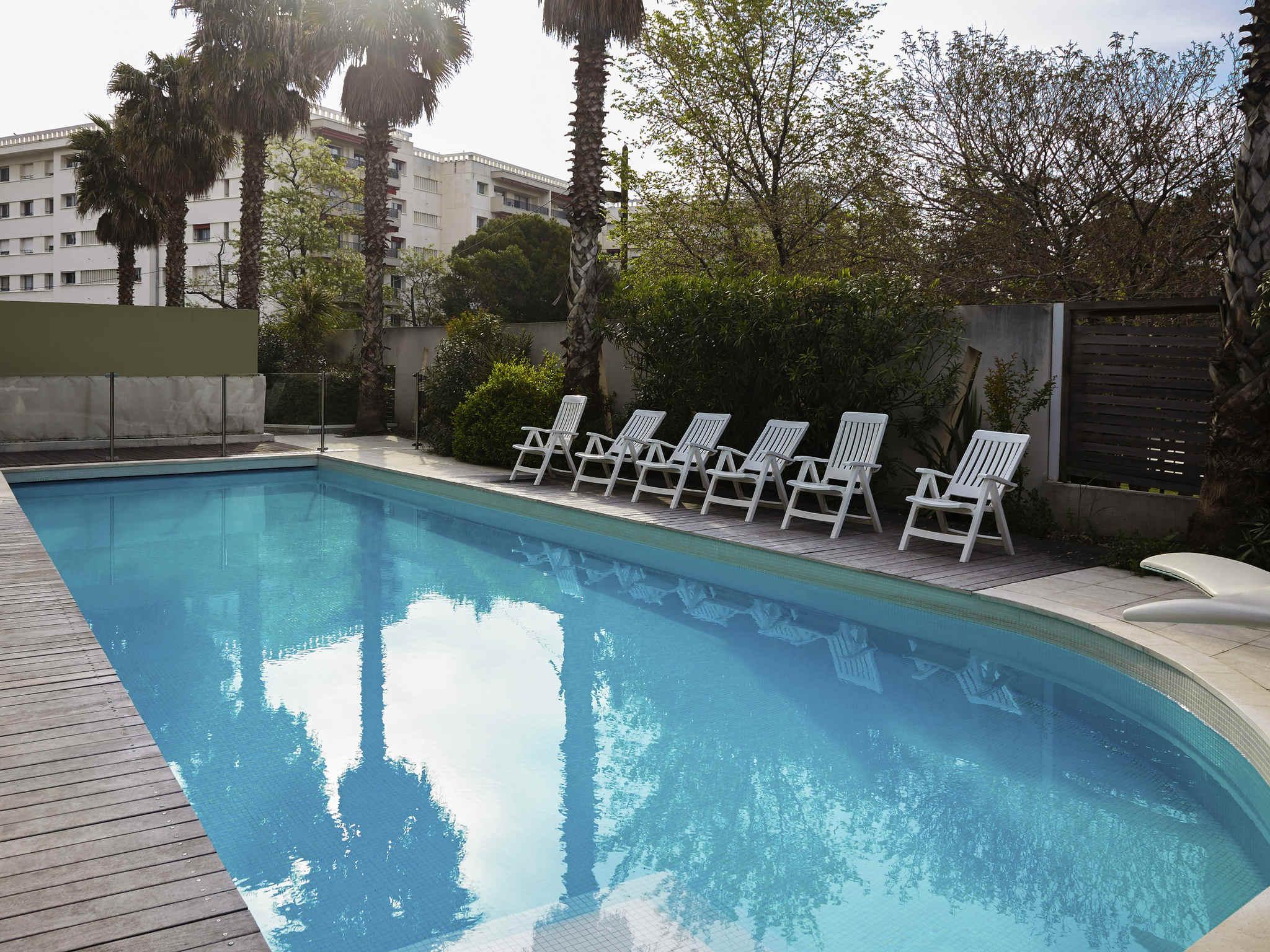 Отель — Aparthotel Adagio Марсель Пляж Прадо