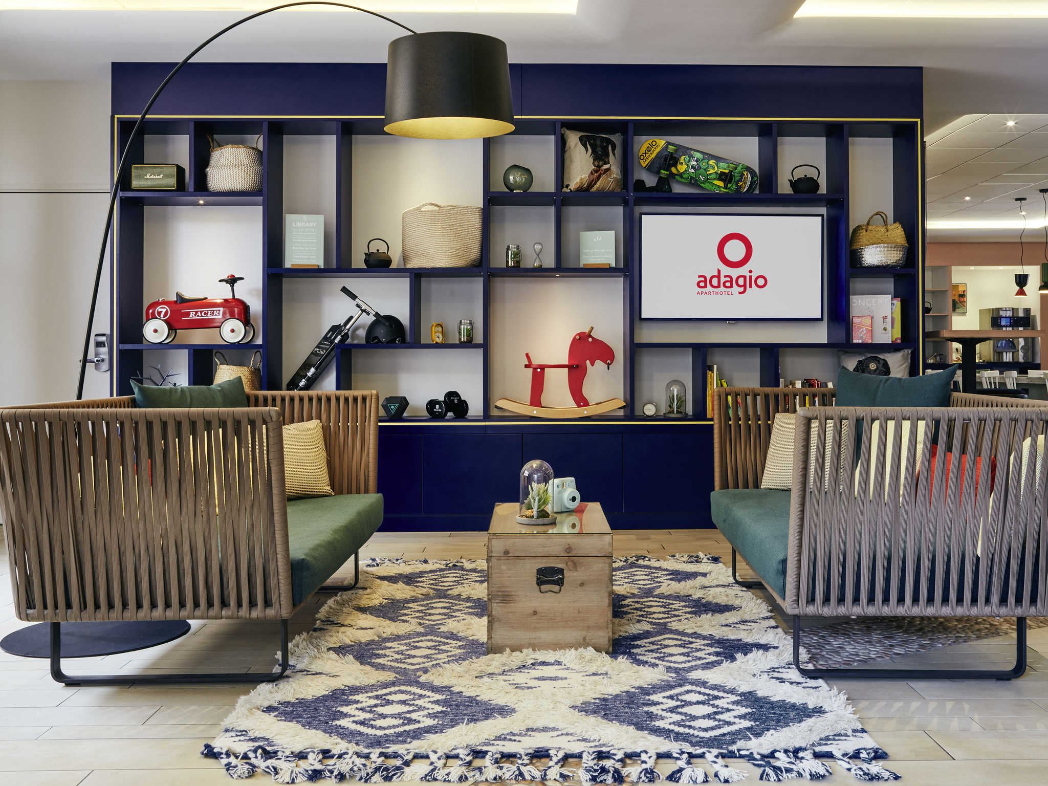 โรงแรม – Aparthotel Adagio Aix-en-Provence Centre