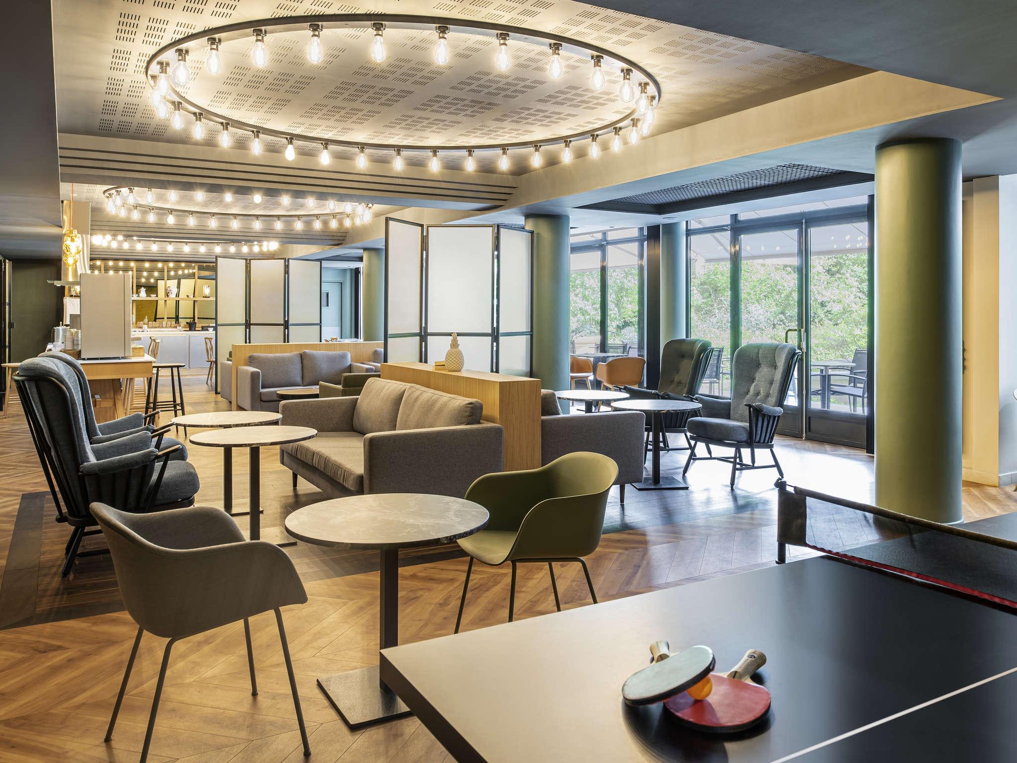 Hotell – Lägenhetshotellet Adagio Porte de Versailles