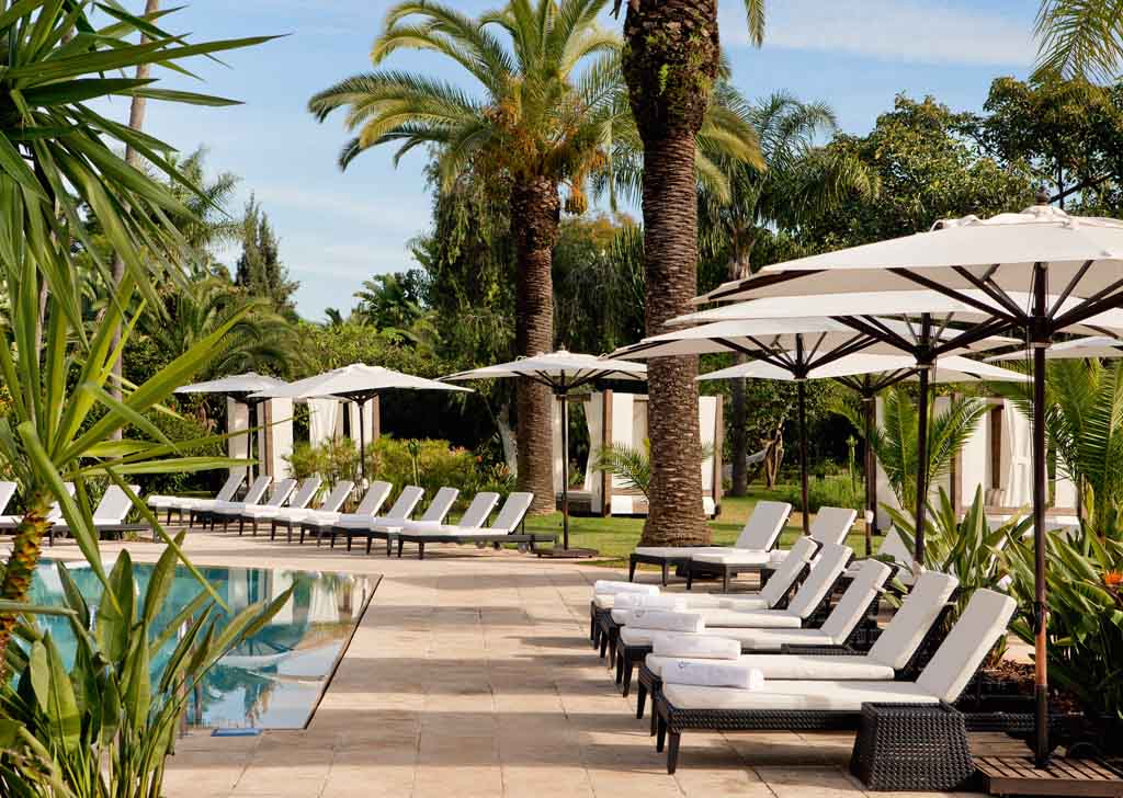 Services luxury hotel sofitel rabat jardin des roses for Jardin oudaya rabat