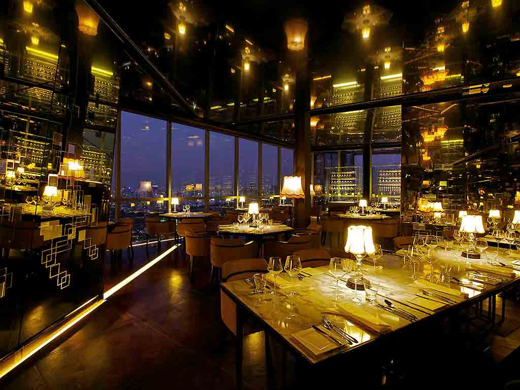 Park society bangkok restaurants by accorhotels for Extra cuisine paris