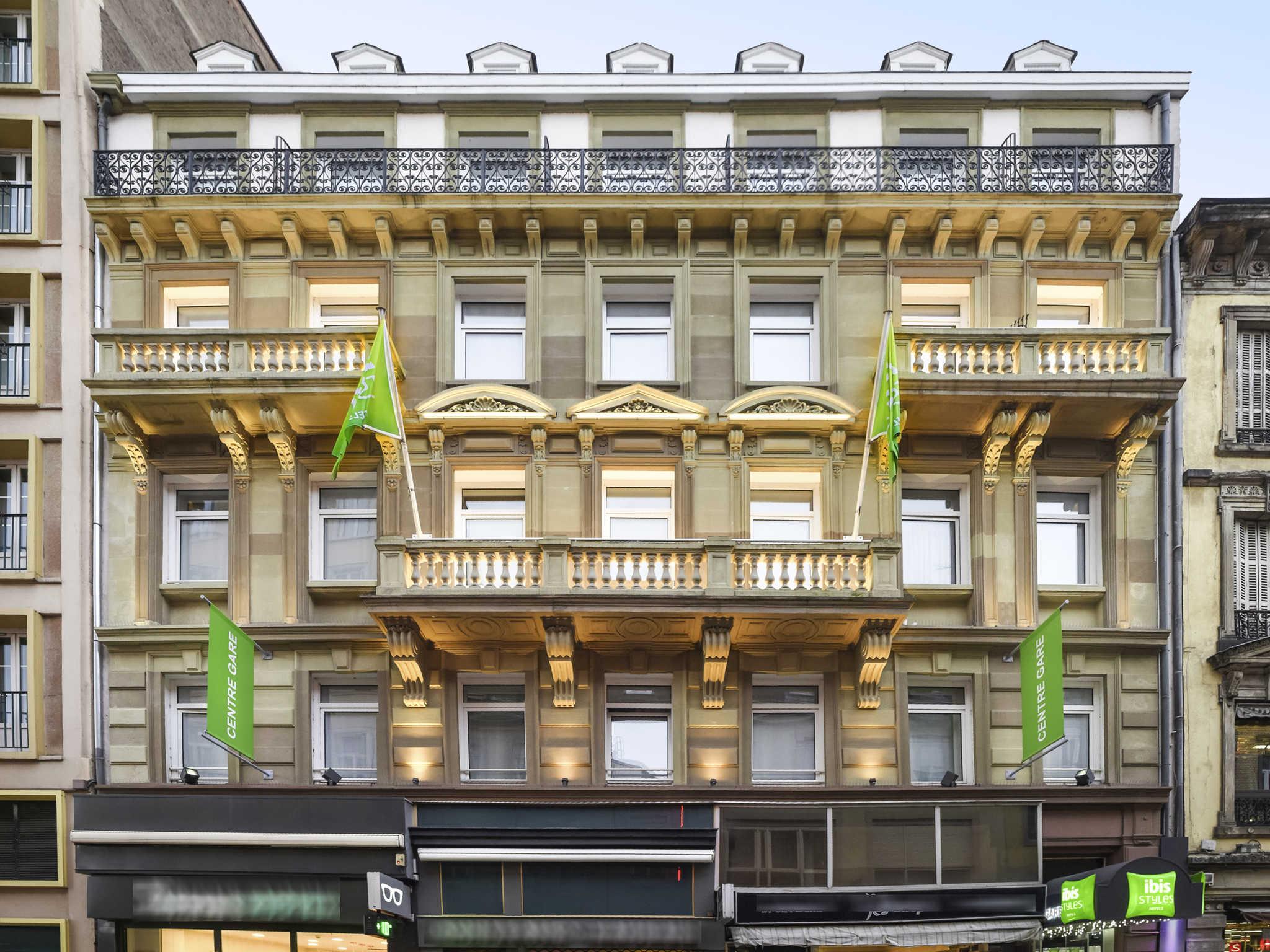 Отель — ibis Styles Страсбург Центральный вокзал