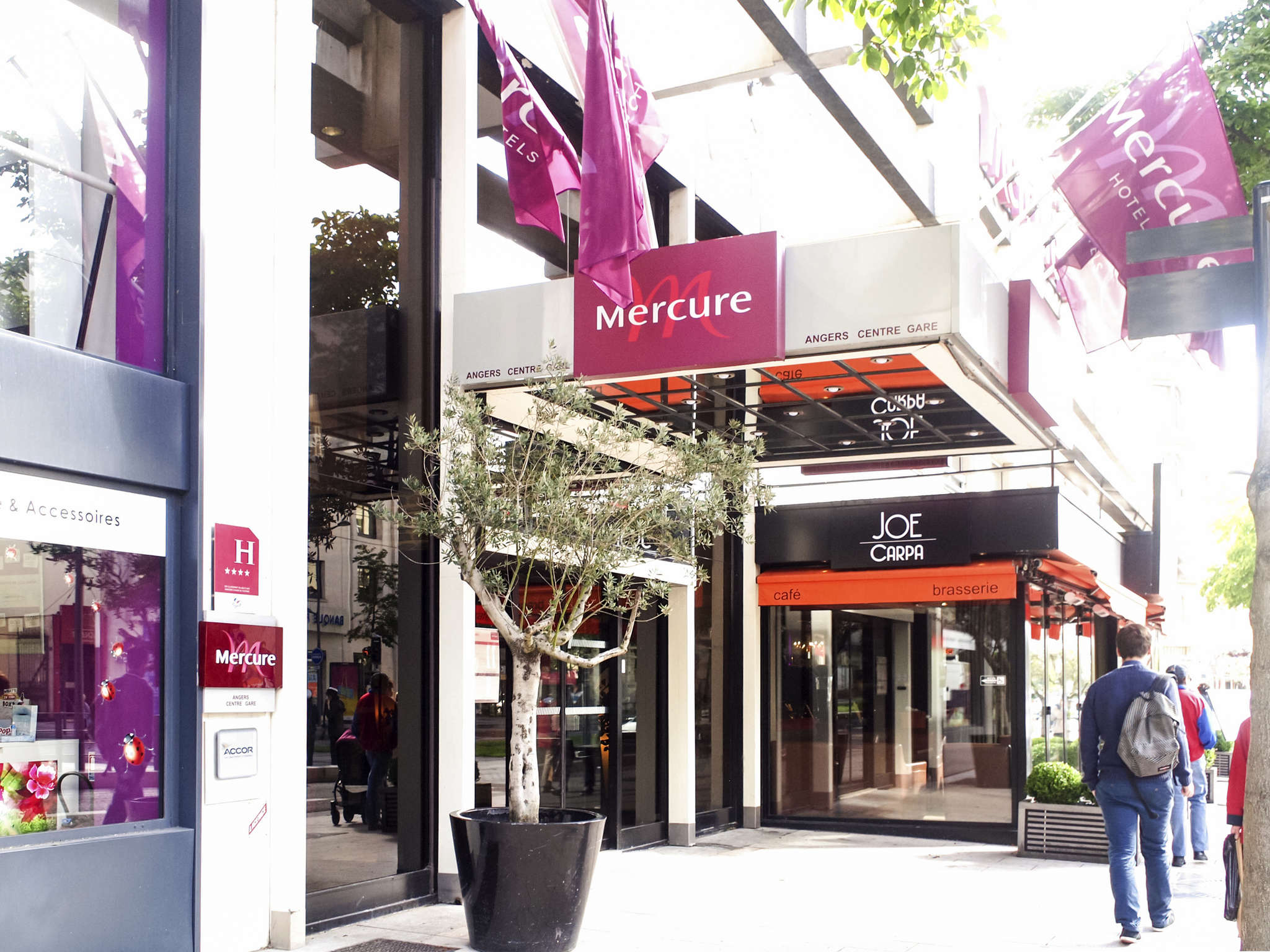 Hotel In Angers Mercure Angers Centre Gare Hotel Accor