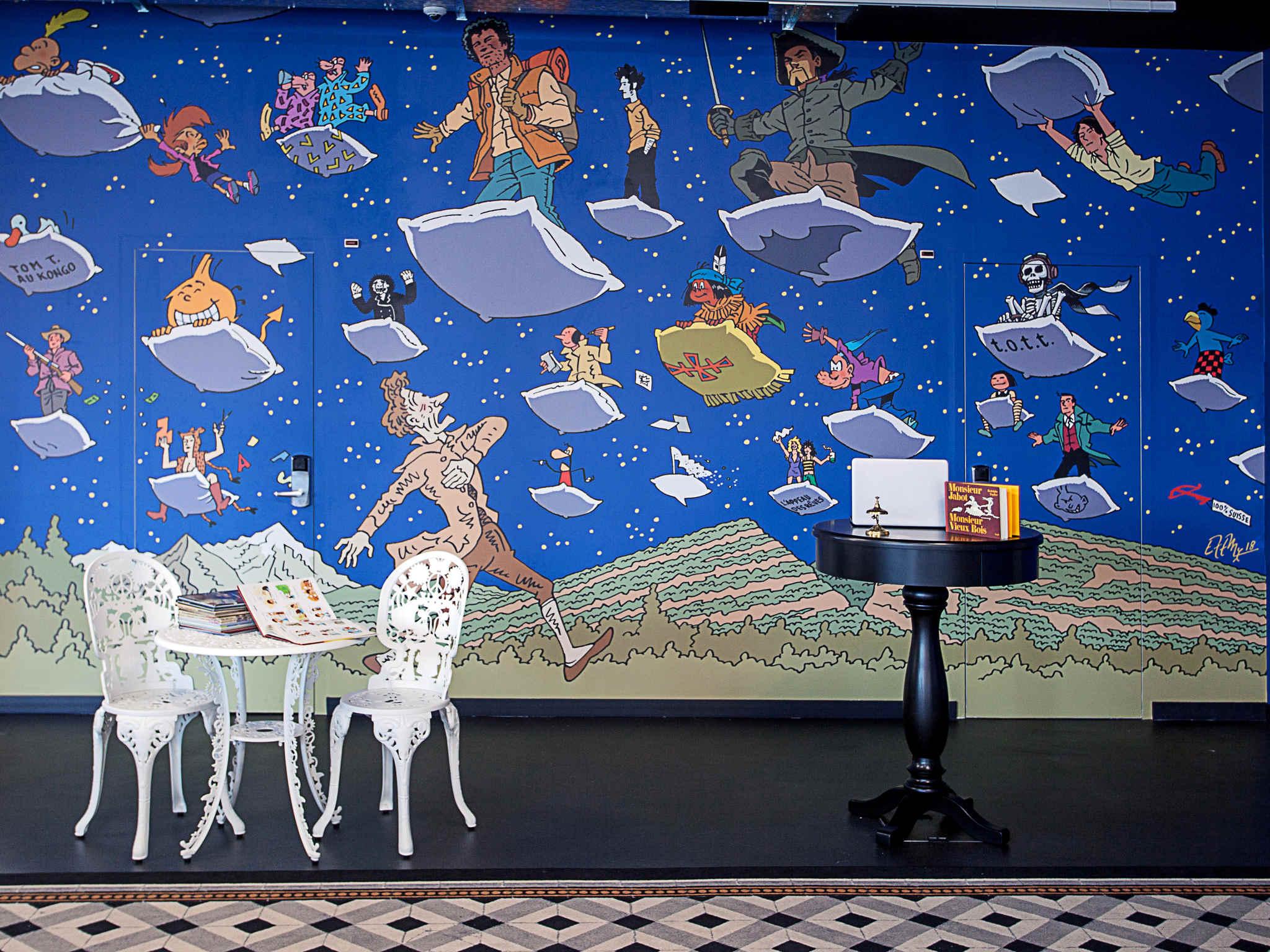 Hôtel - ibis Styles Genève Carouge