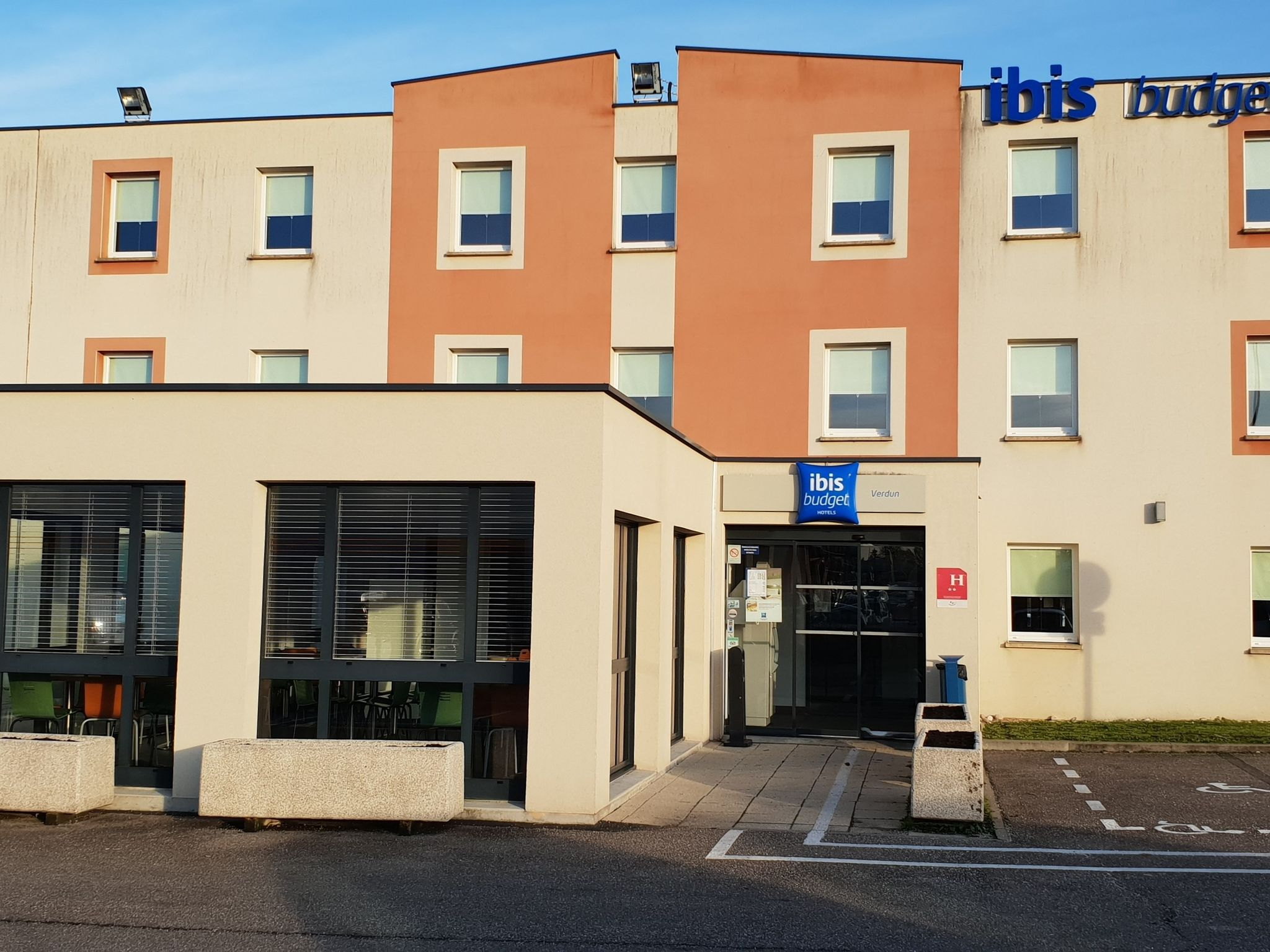 호텔 – ibis budget Verdun