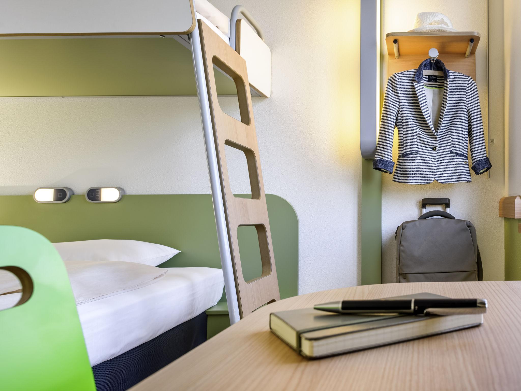 Hotell – Ibis budget Besancon Nord École Valentin