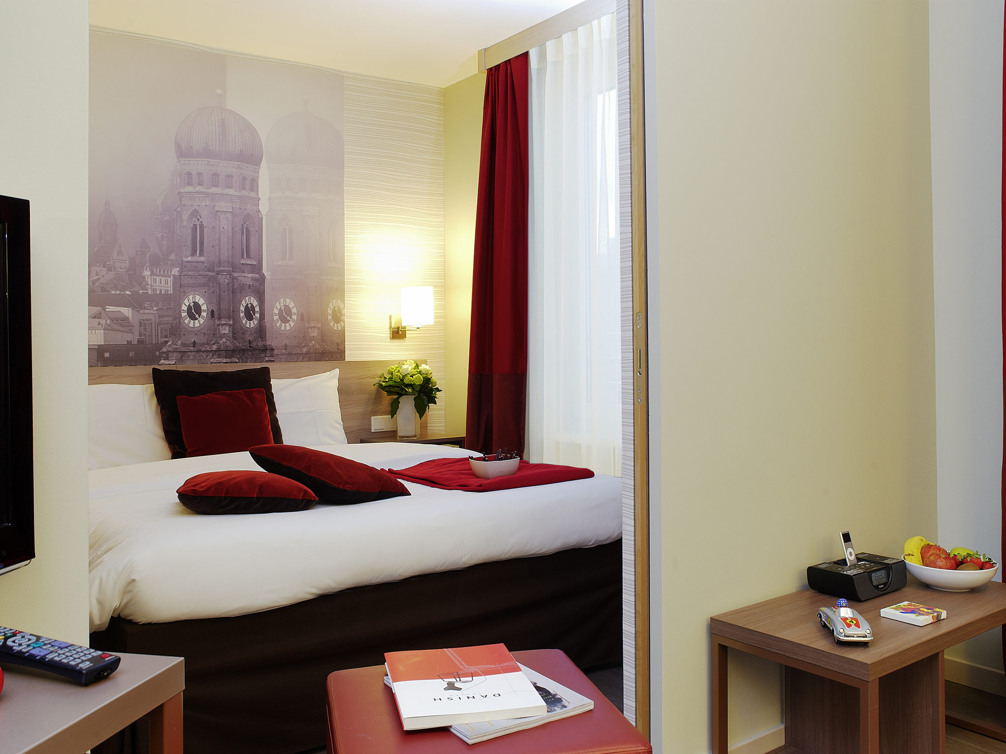Aparthotel adagio munich city book now fitness room for Adagio accor hotel