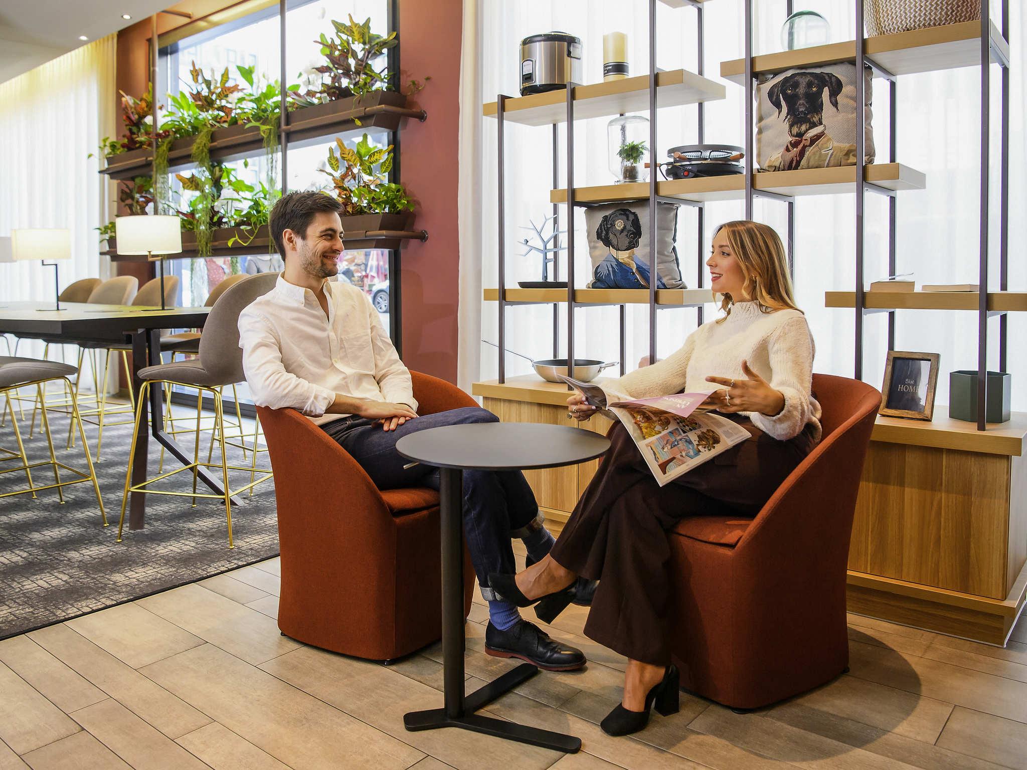 Отель — Aparthotel Adagio Мюнхен Сити