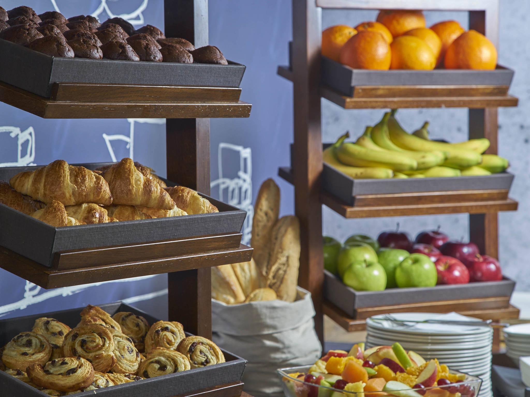 ... Breakfast - ibis budget Manchester Centre Pollard Street ...