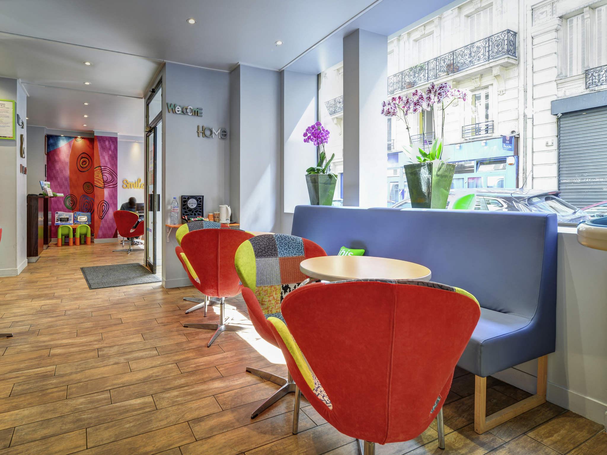 Hotel – ibis Styles Parijs Lafayette Opéra