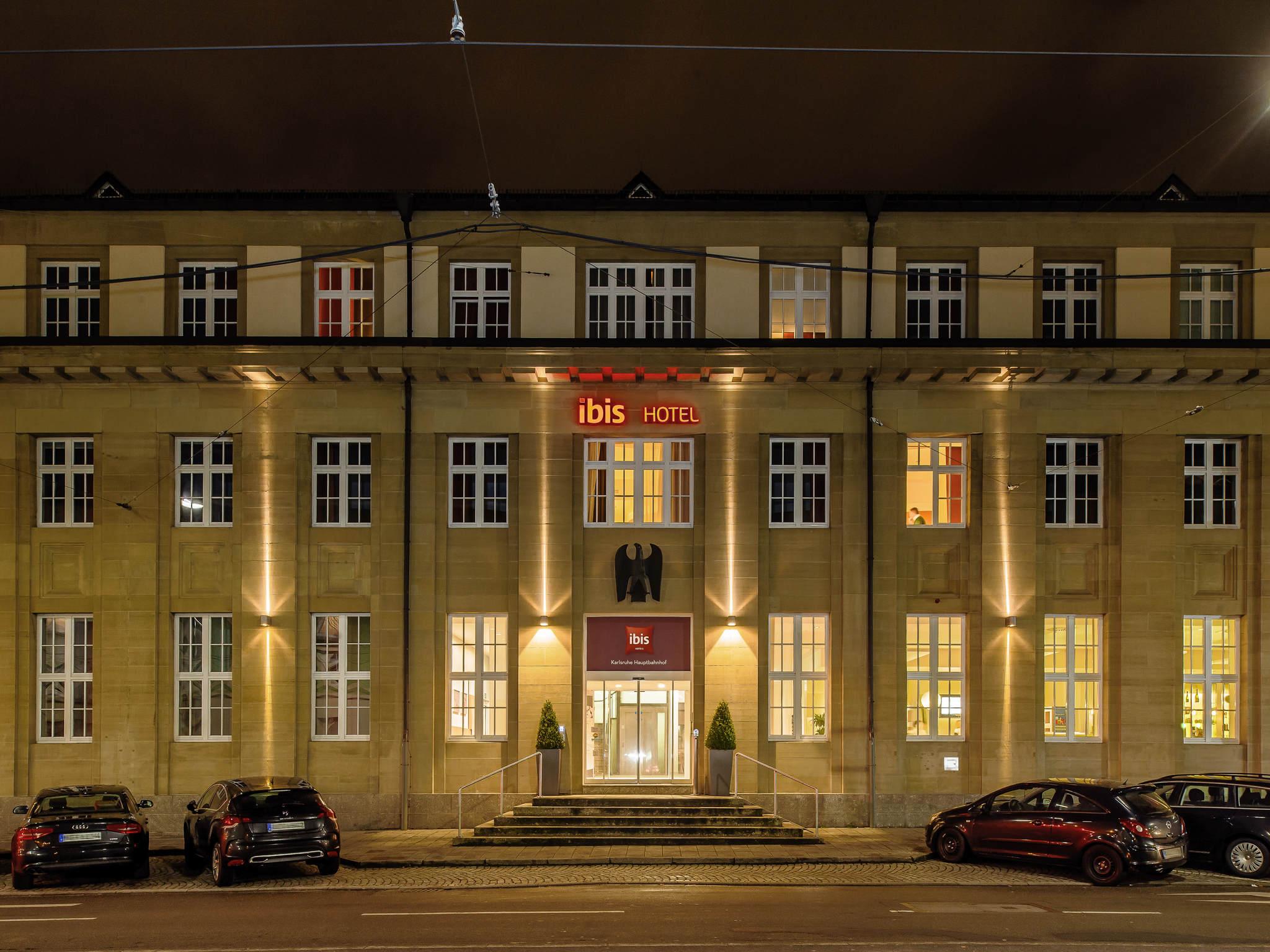 Hotell – ibis Karlsruhe Hauptbahnhof