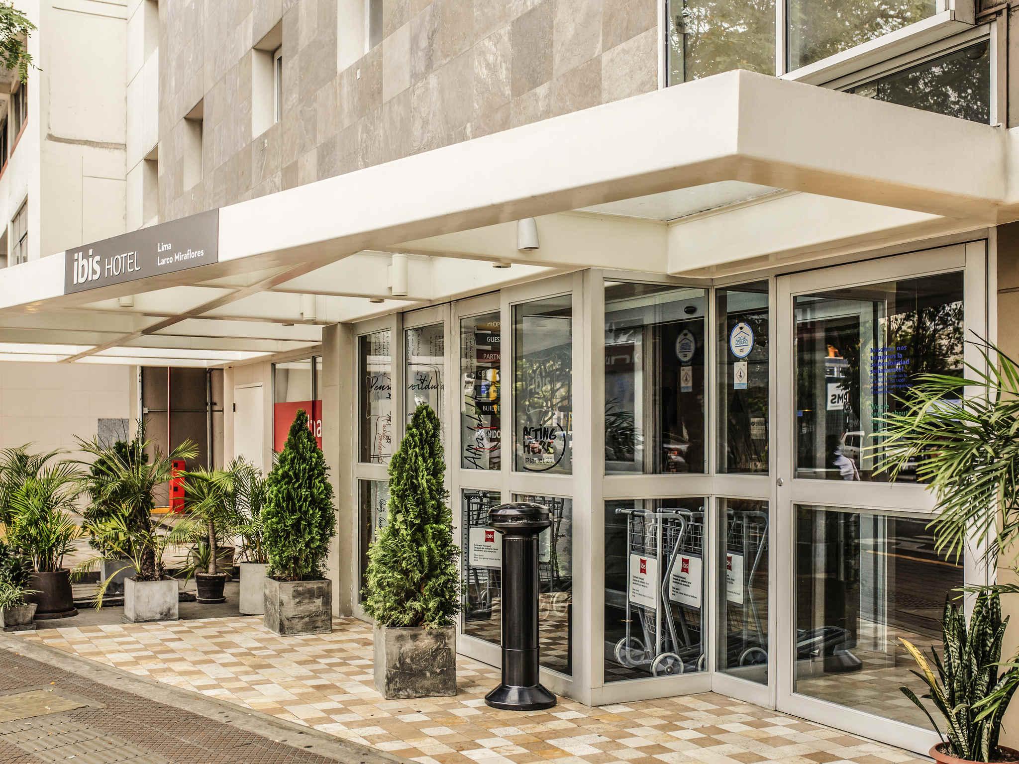 酒店 – 宜必思拉尔科米拉弗洛雷斯酒店