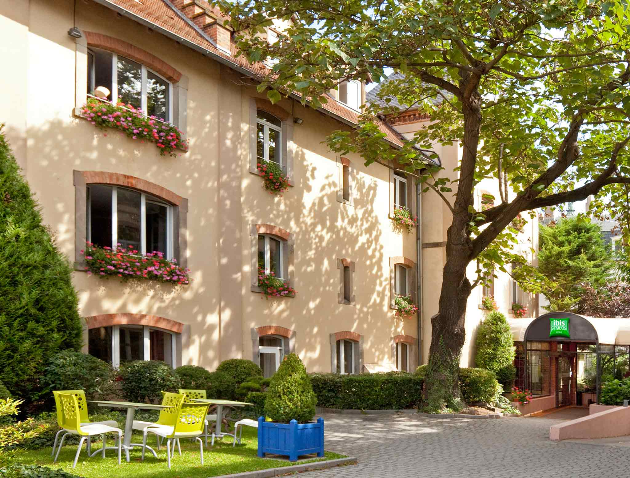 Hotel in colmar ibis styles colmar centre for Boutique hotel alsace