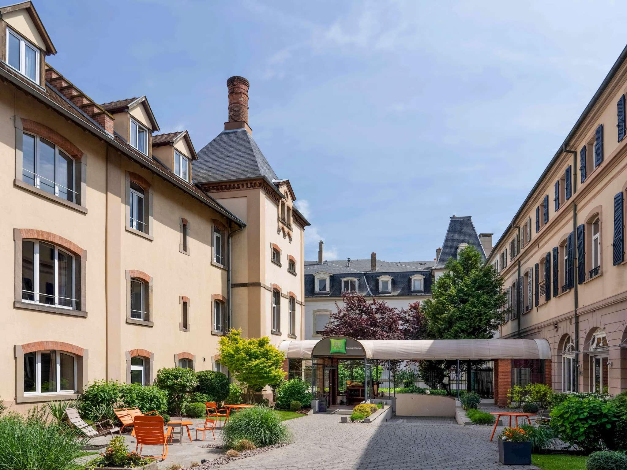 Hotel in colmar ibis styles colmar centre for Boutique hotel colmar
